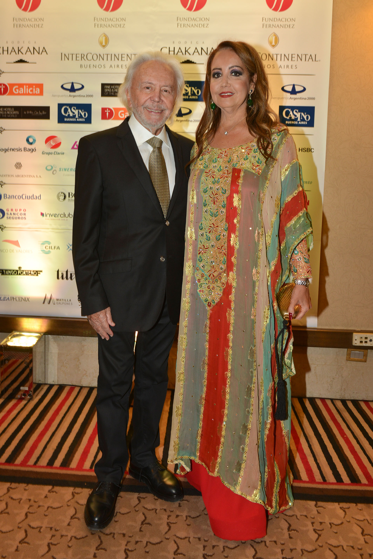Guido Parisier y Mónica Parisier, presidente de Make-A-Wish Argentina.