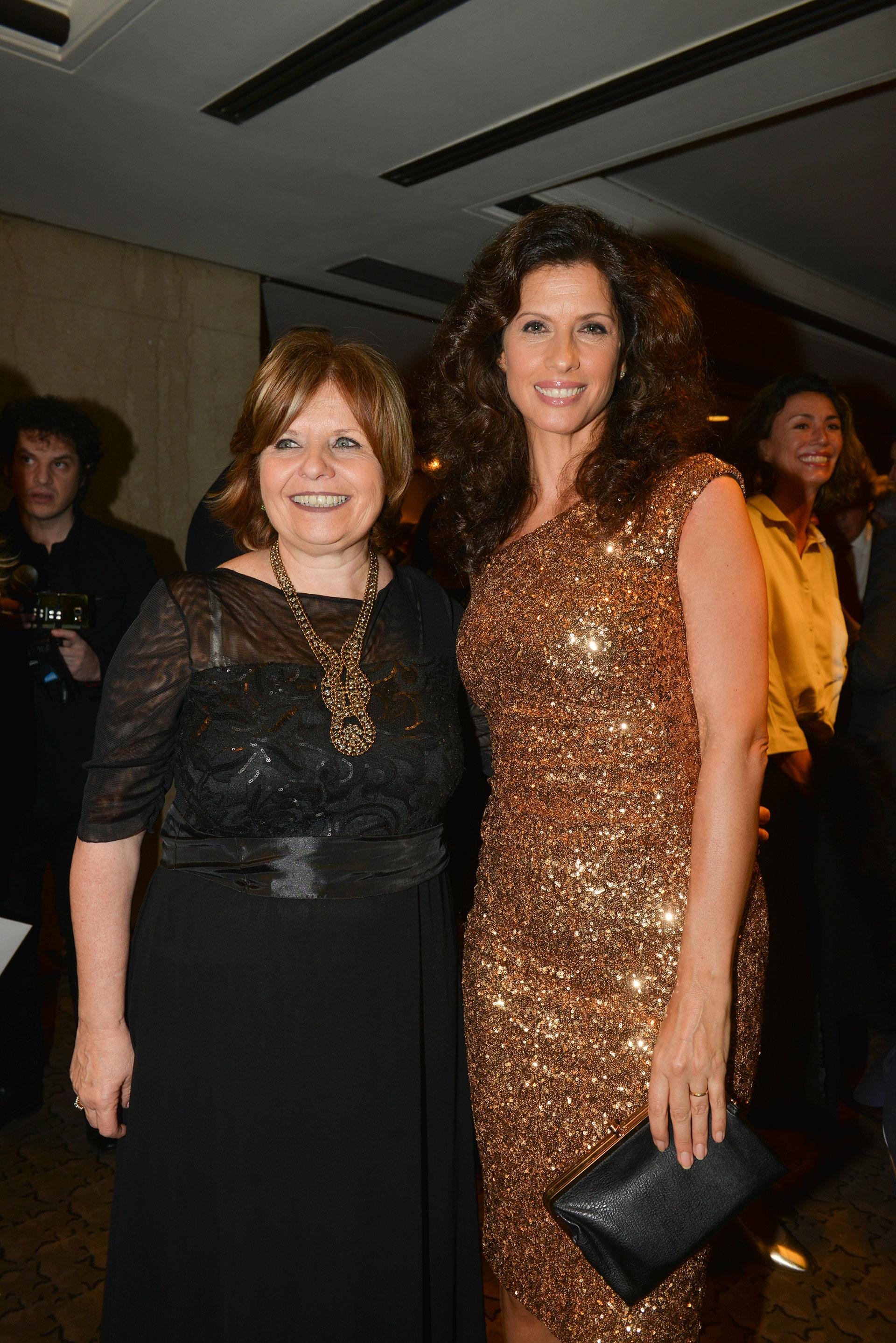 La ministra de Salud porteña, Ana María Bou Pérez y Analía Maiorana.