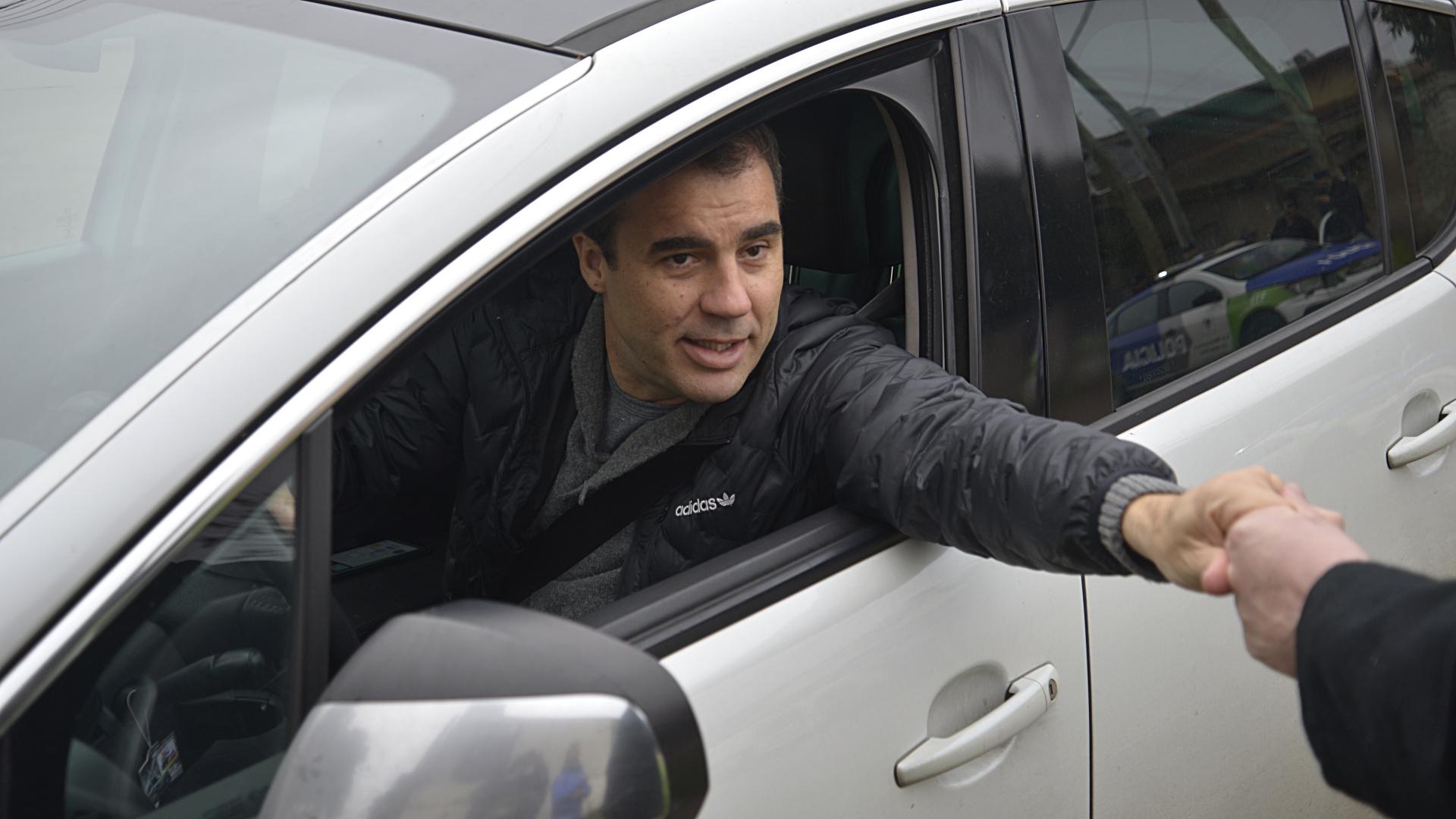 El periodista deportivo Guillermo Poggi