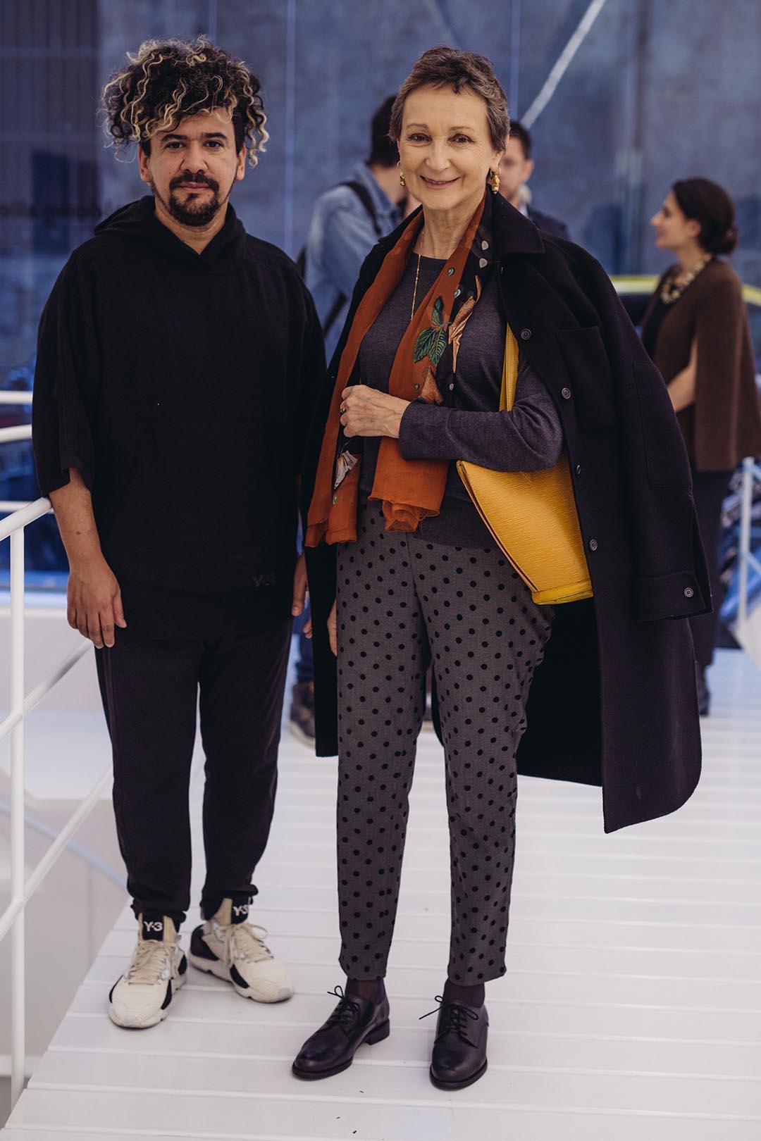 Ricardo Ocampo y Teresa Anchorena