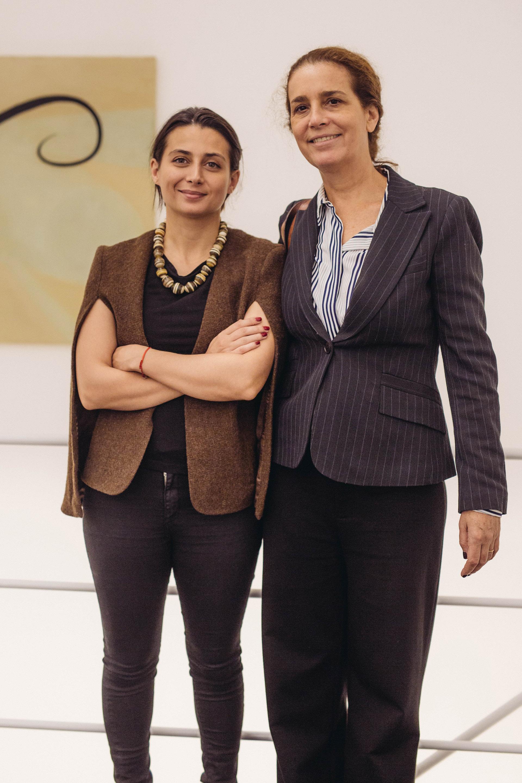 Agustina Taruschio y Delfina Helguera
