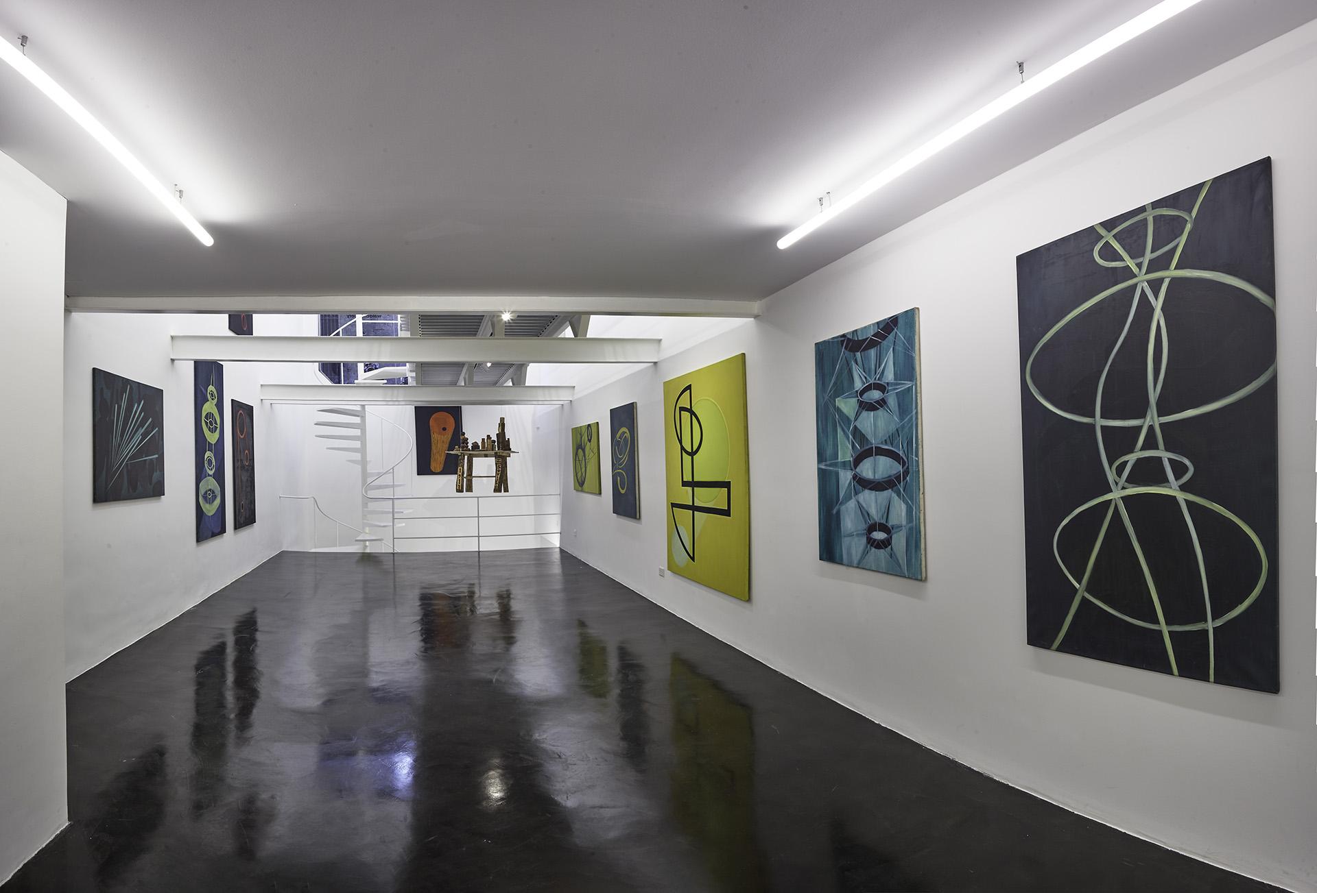 """waldengallery presentó la primera exposición individual de Magdalena Jitrik en la galería. Bajo el título """"La superación de la guerra"""", está compuesta por una selección de obras tanto recientes como de los años 90, período durante el cual participó del efervescente Centro Cultural Rojas y la Beca Kuitka"""