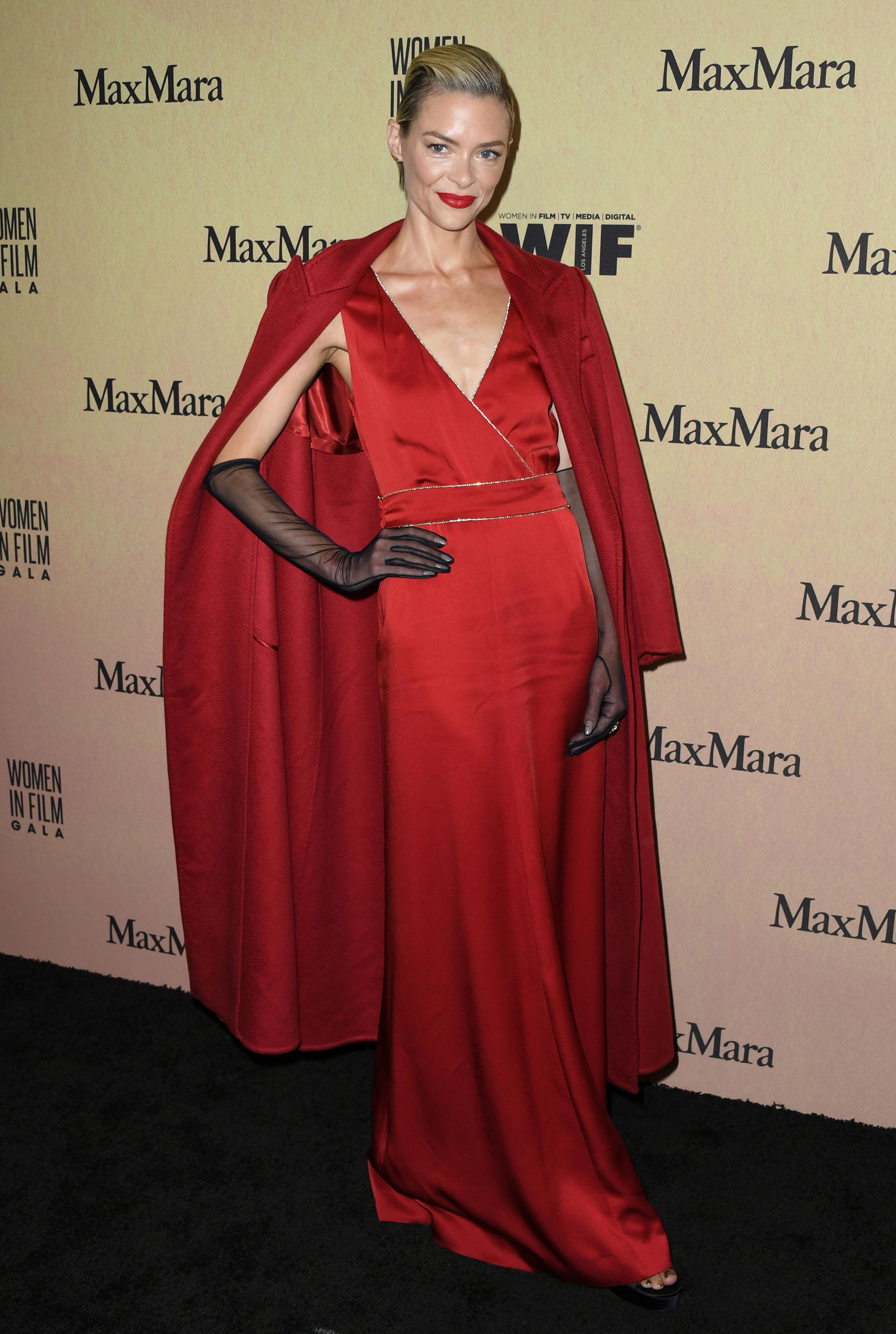 La mujer más elegante de la noche: Jaime King