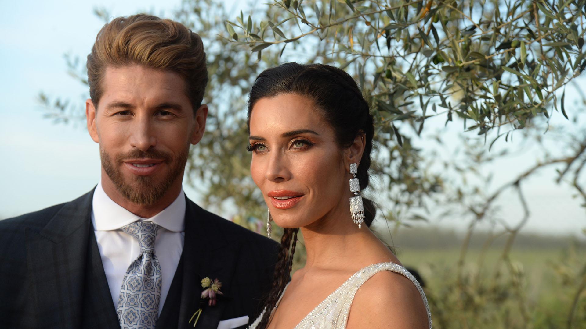 Sergio Ramos y Pilar Rubio, flamante matrimonio