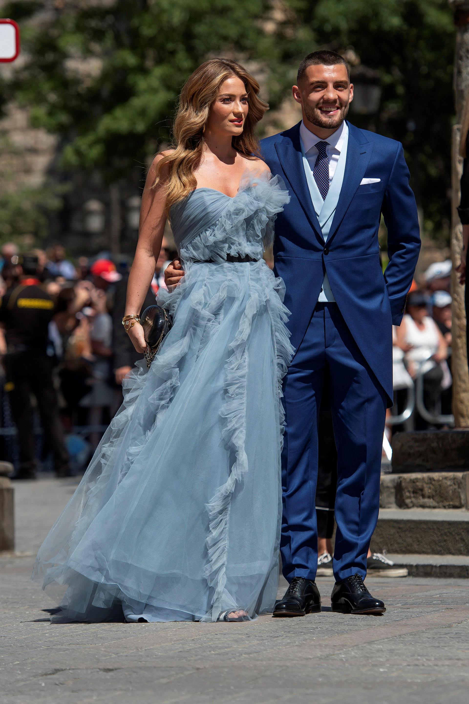 El futbolista Mateo Kovacic y su pareja Izabel