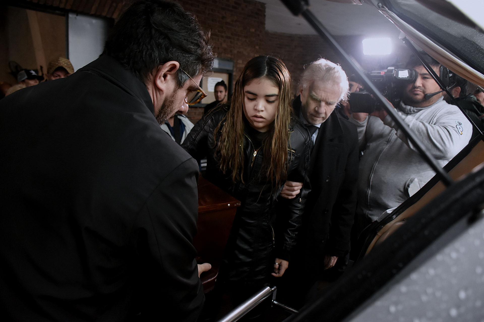 Por decisión familiar no hubo velatorio y la actriz fue llevada al Cementerio de la Chacarita