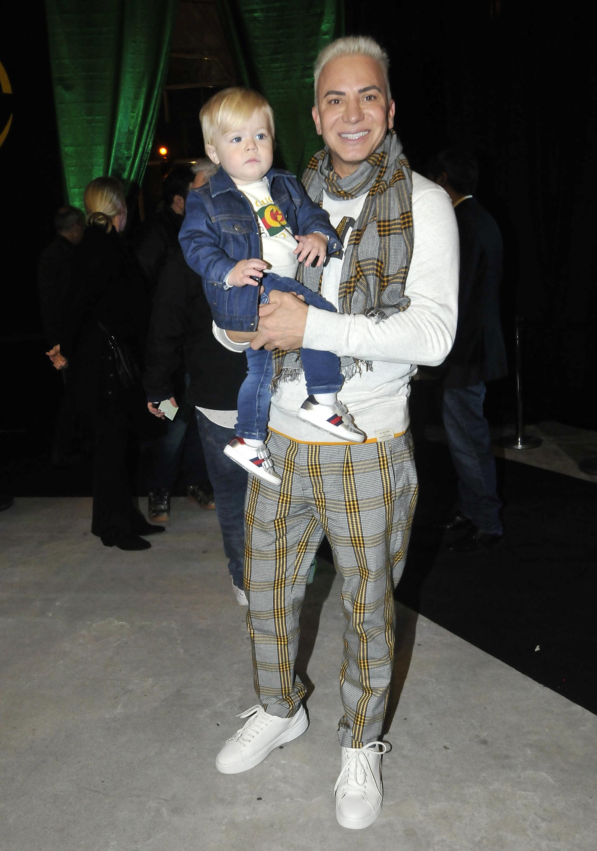 Flavio Mendoza y su hijo, Dionisio