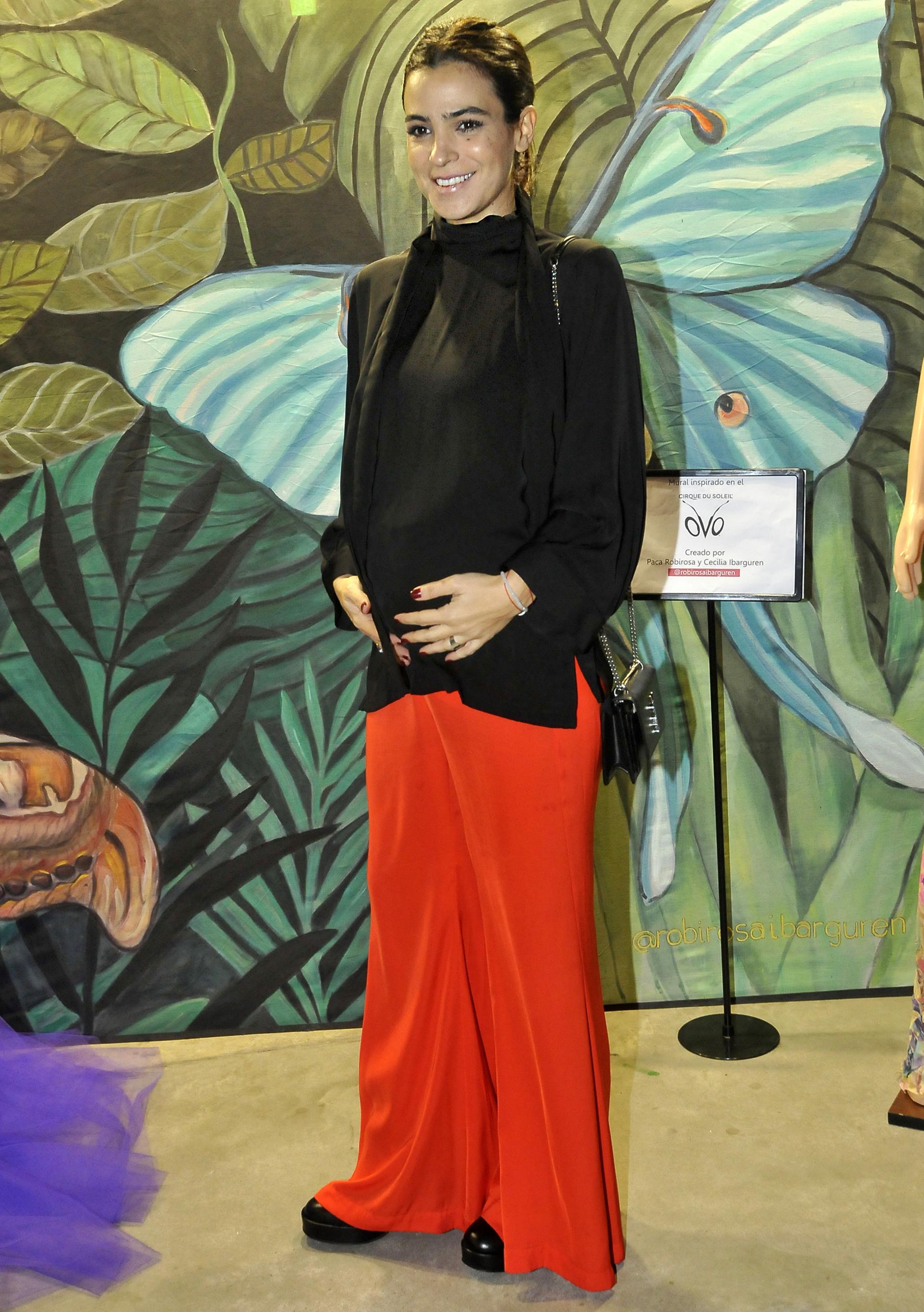 Agustina Cherri, embarazada de cinco meses