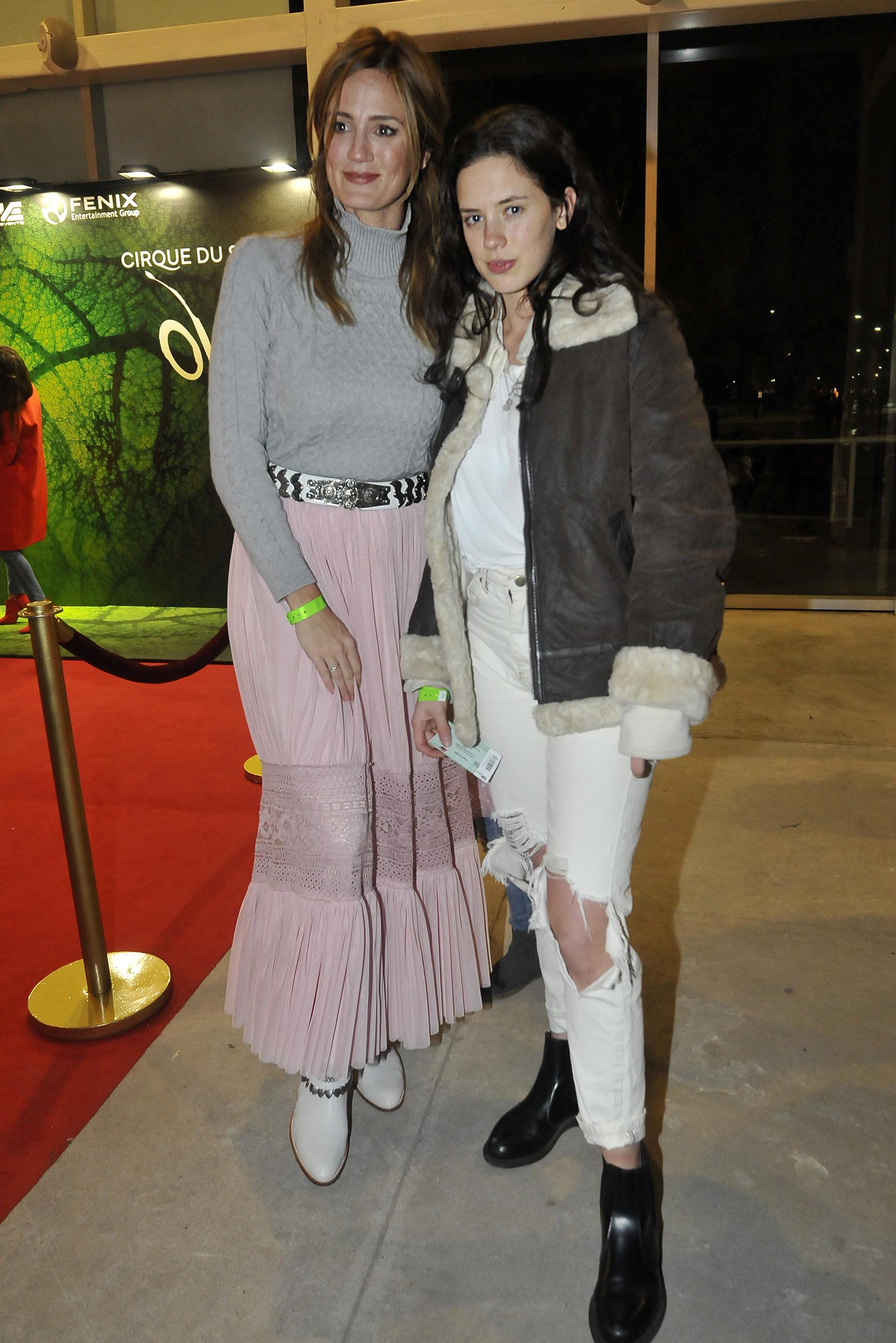 Las hermanas Paula y Delfina Chaves
