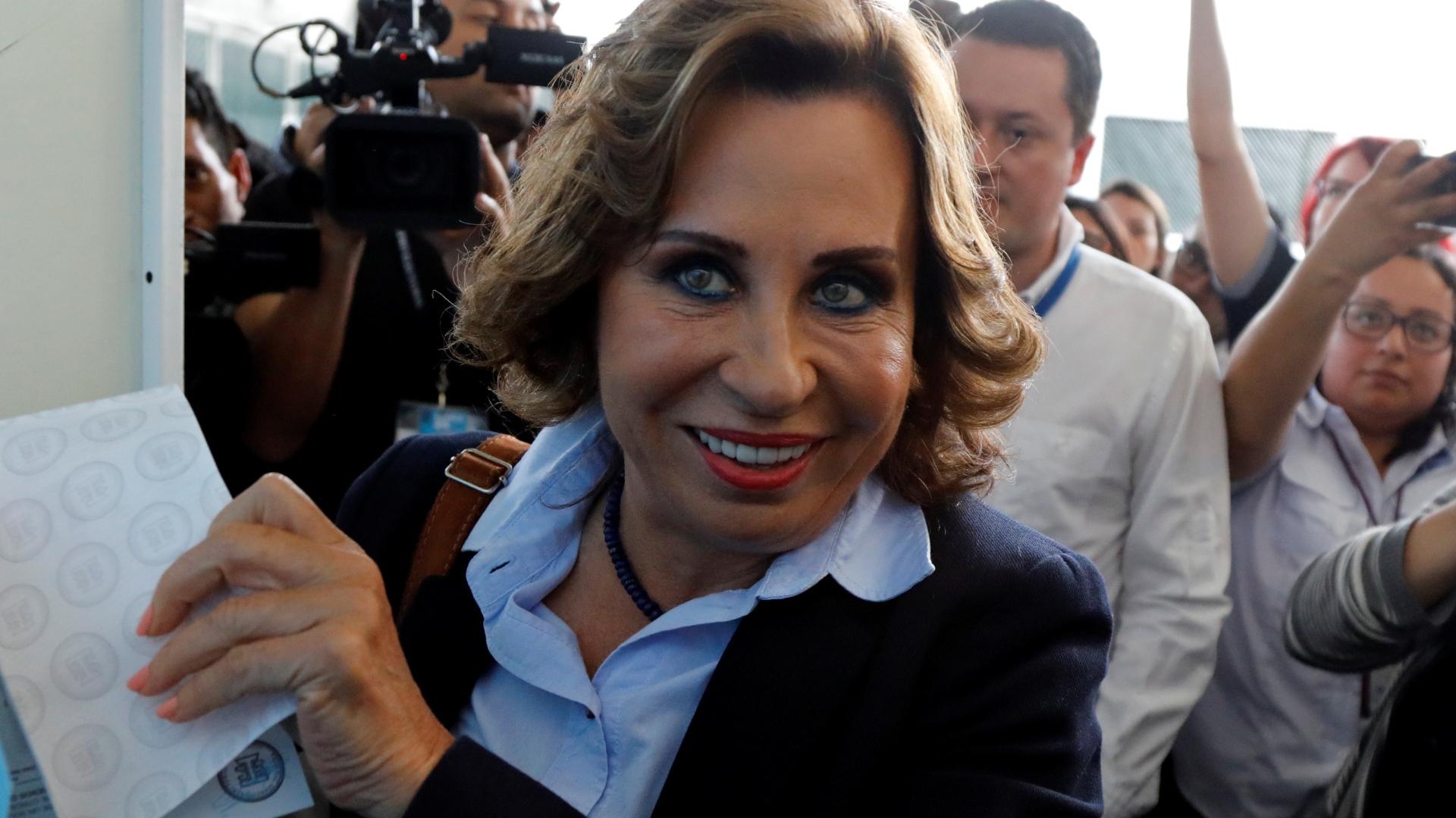 Resultado de imagen para Guatemala: Sandra Torres gana primera vuelta electoral
