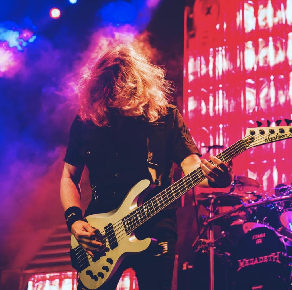 Mustaine fundó Megadeth en 1983, con la que se mantuvo activo hasta la actualidad (Foto: Instagram @DaveMustaine)