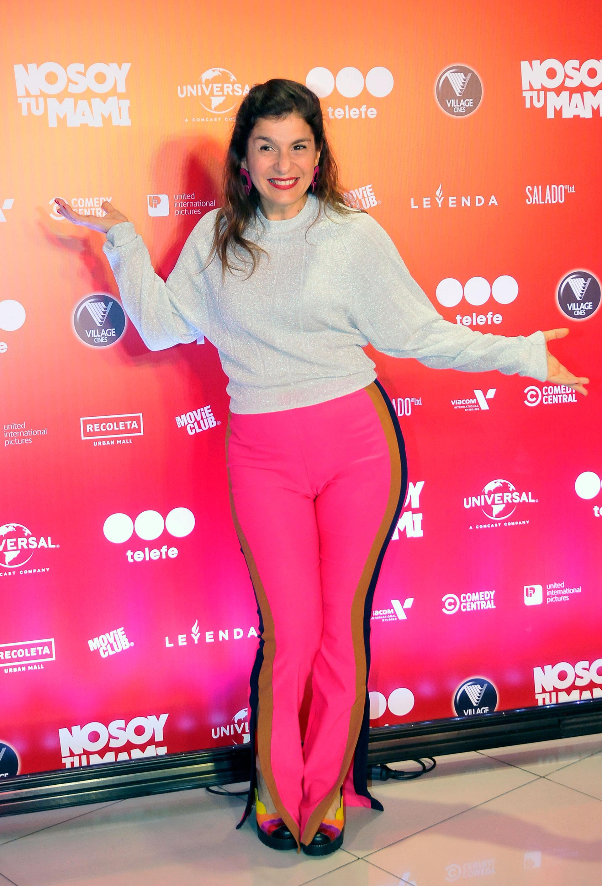 Dalia Gutmann, orgullosa por el estreno de la película de su pareja, Sebastián Wainraich
