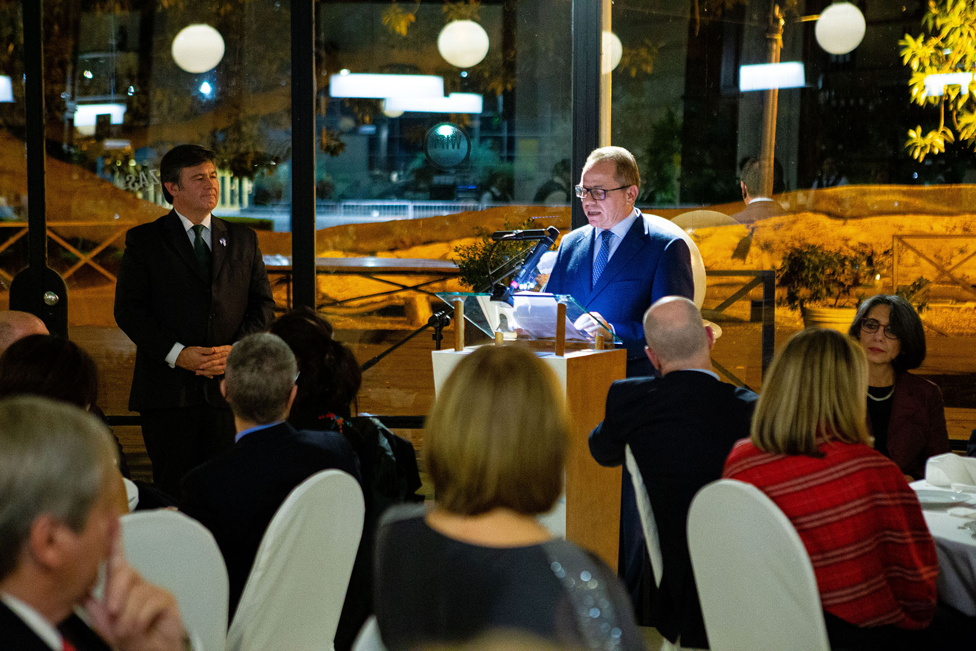 El discurso de Yurii Diudin, embajador de Ucrania en nuestro país