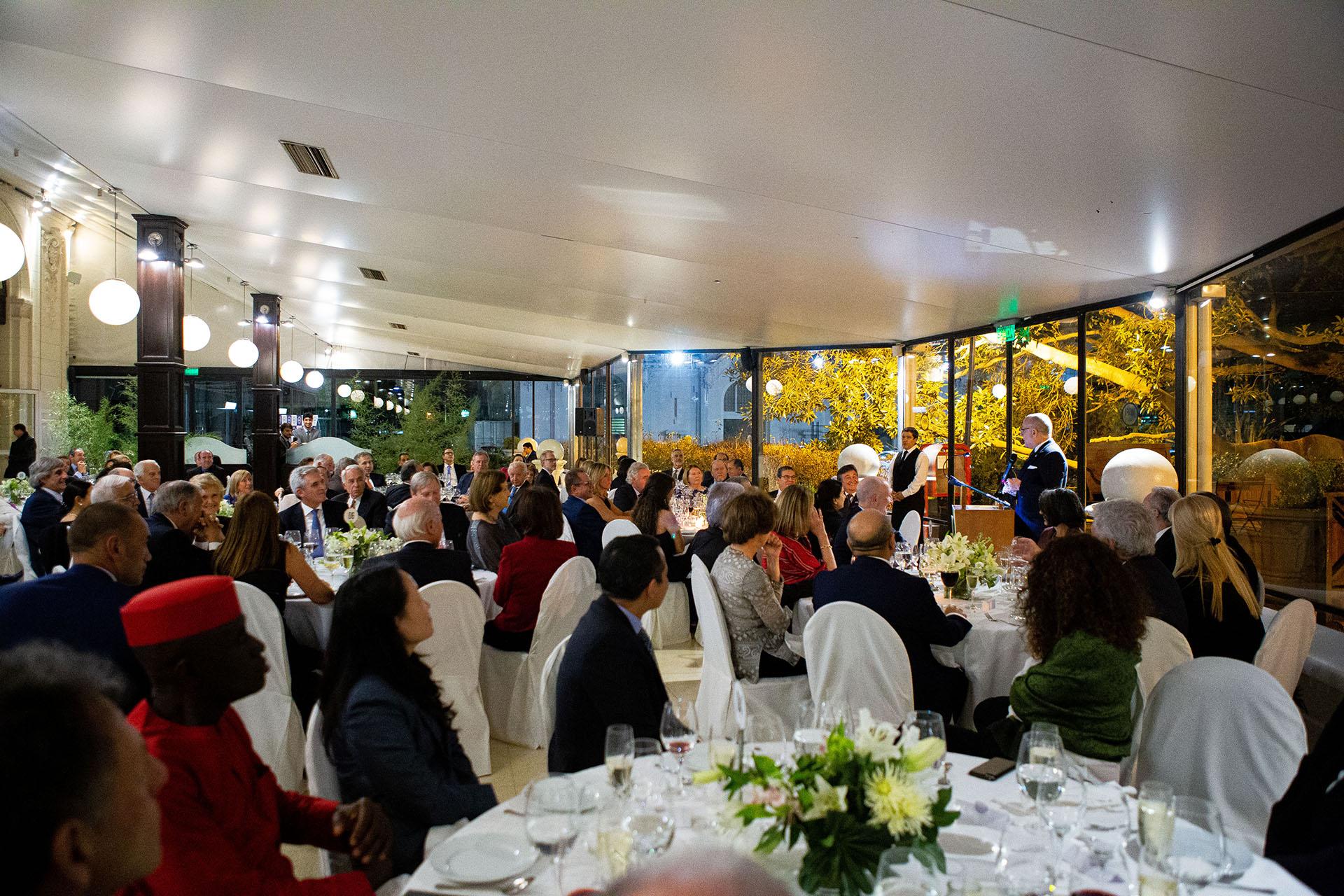 """""""Este encuentro tiene para nosotros, representantes del campo argentino, un significado especial para avanzar decididamente en el camino del diálogo y la inserción internación"""", expresó Pelegrina. """"La Argentina es el tercer exportador neto de alimentos del mundo. Y sabemos que formamos parte de una región que tiene mucho para ofrecer en materia de producción, fibras, energías renovables y tecnologías, y con ello, dar a sus habitantes oportunidades de empleo y desarrollo"""""""