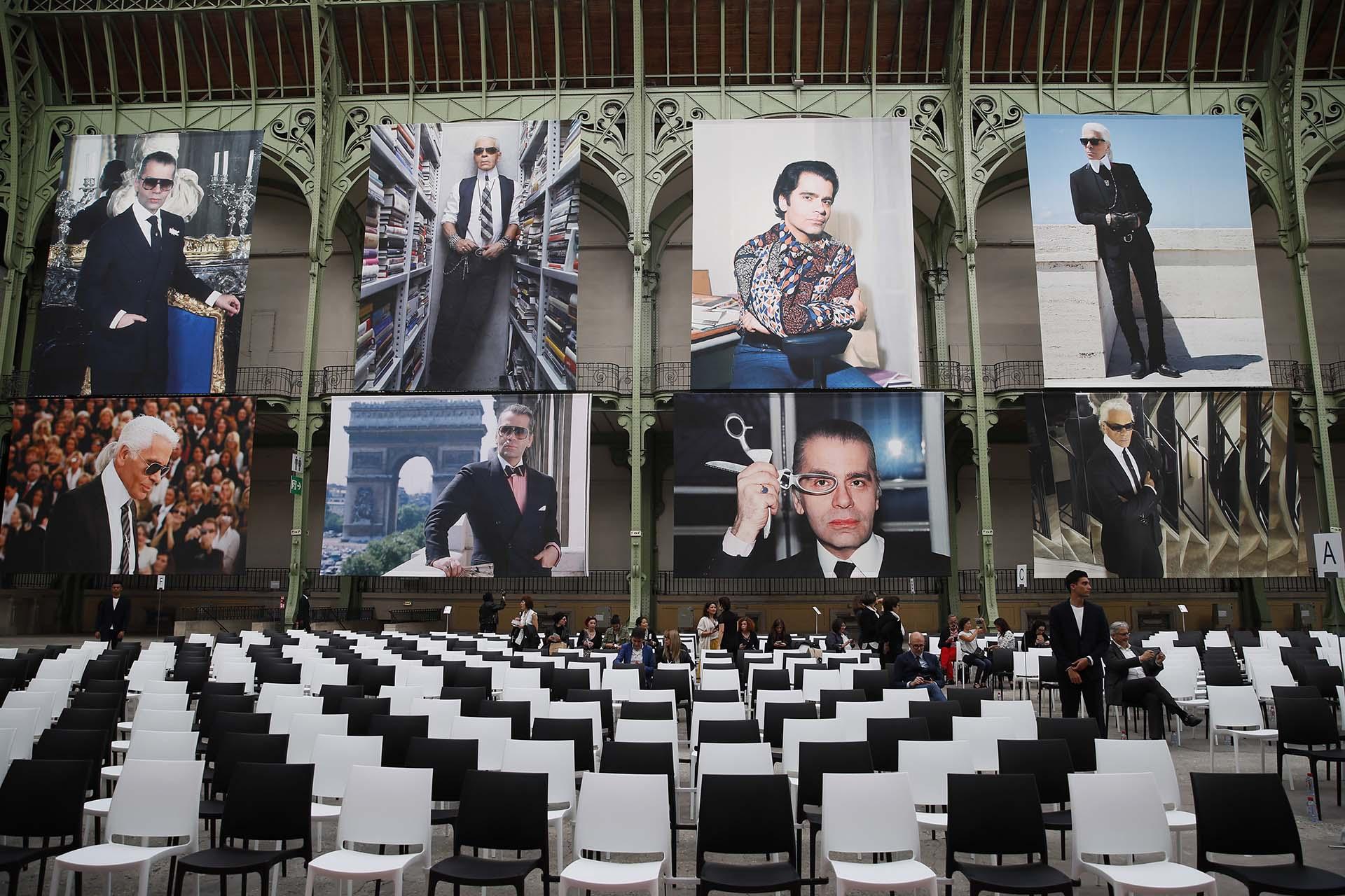 Baptiste Giabiconi, última pareja conocida del diseñador fue el gran ausente en el tributo