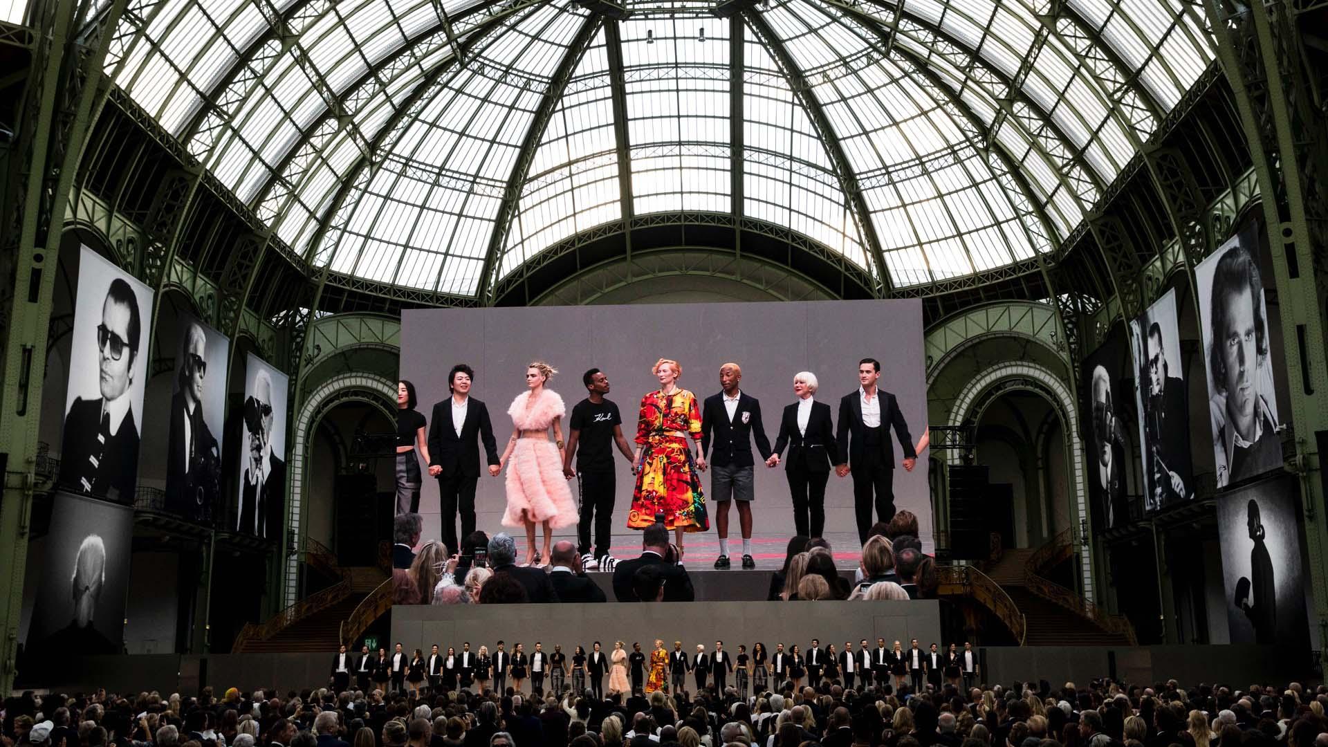 Actores, músicos y bailarines interpretaron la música y la literatura que Karl tanto amaba.