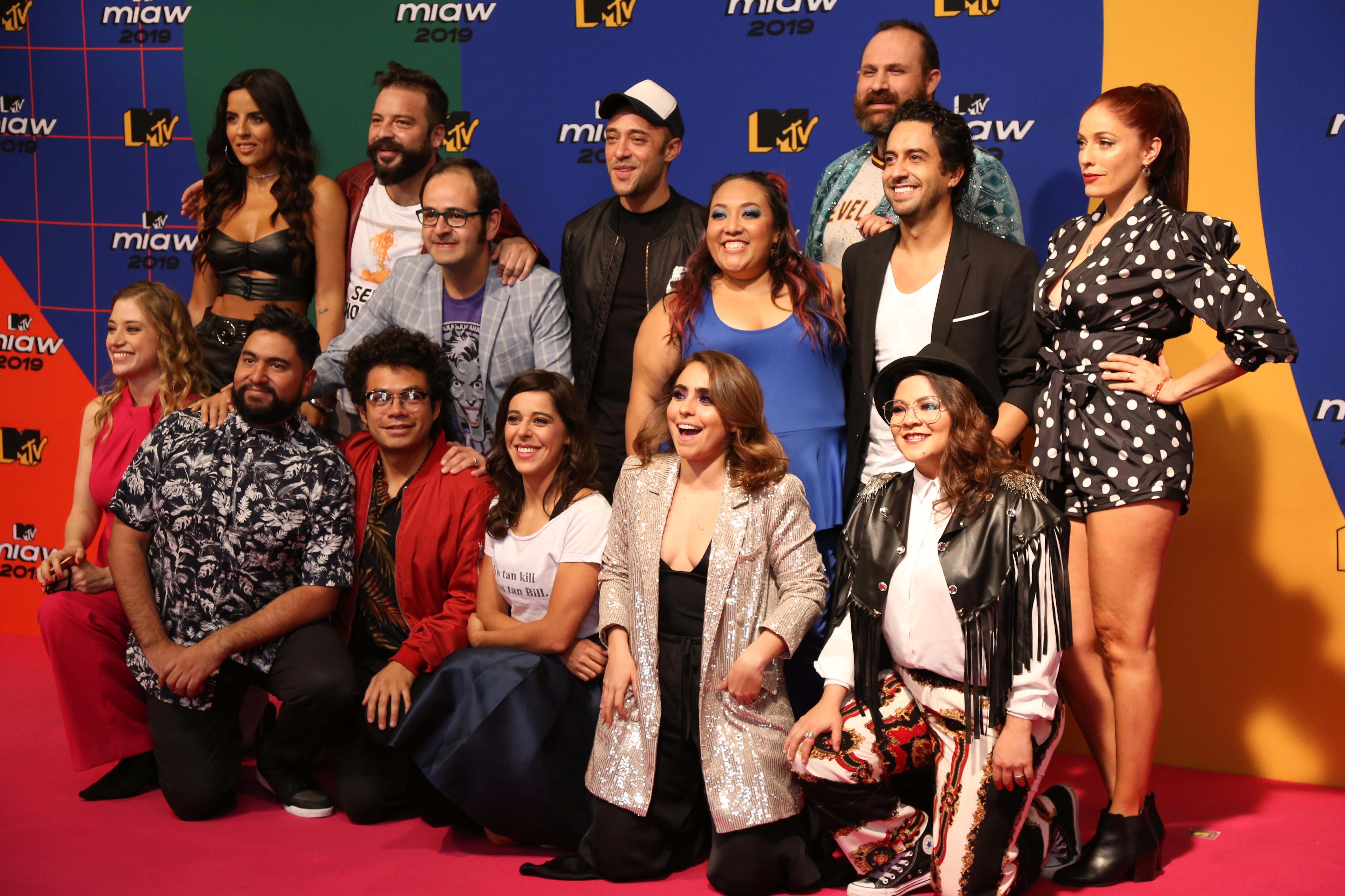 Cast de Mirreyes vs Godínez (Foto: Juan Vicente Manrique/Infobae)