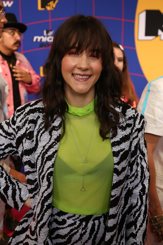 La cantante Ximena Sariñana (Foto: Juan Vicente Manrique/Infobae)