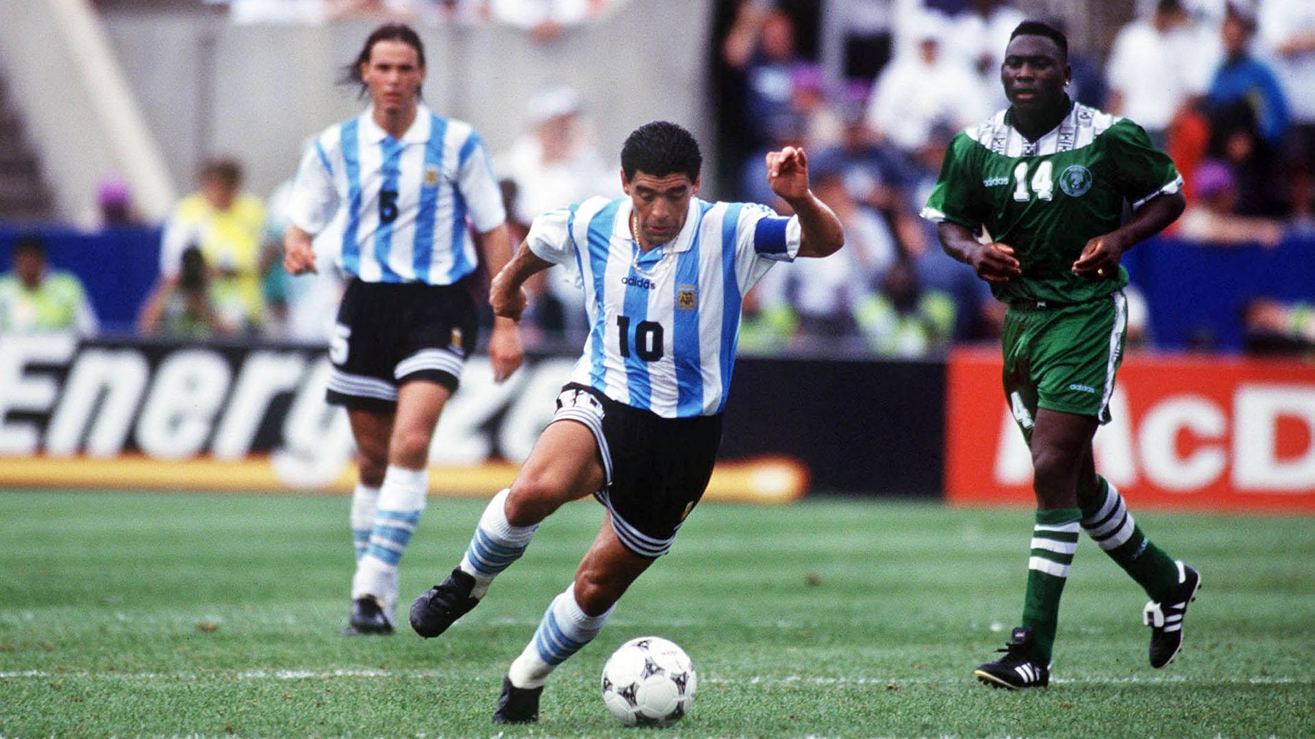 La droga que Maradona tomó en el Mundial de Estados Unidos hace 25 años hoy  no sería doping - Infobae