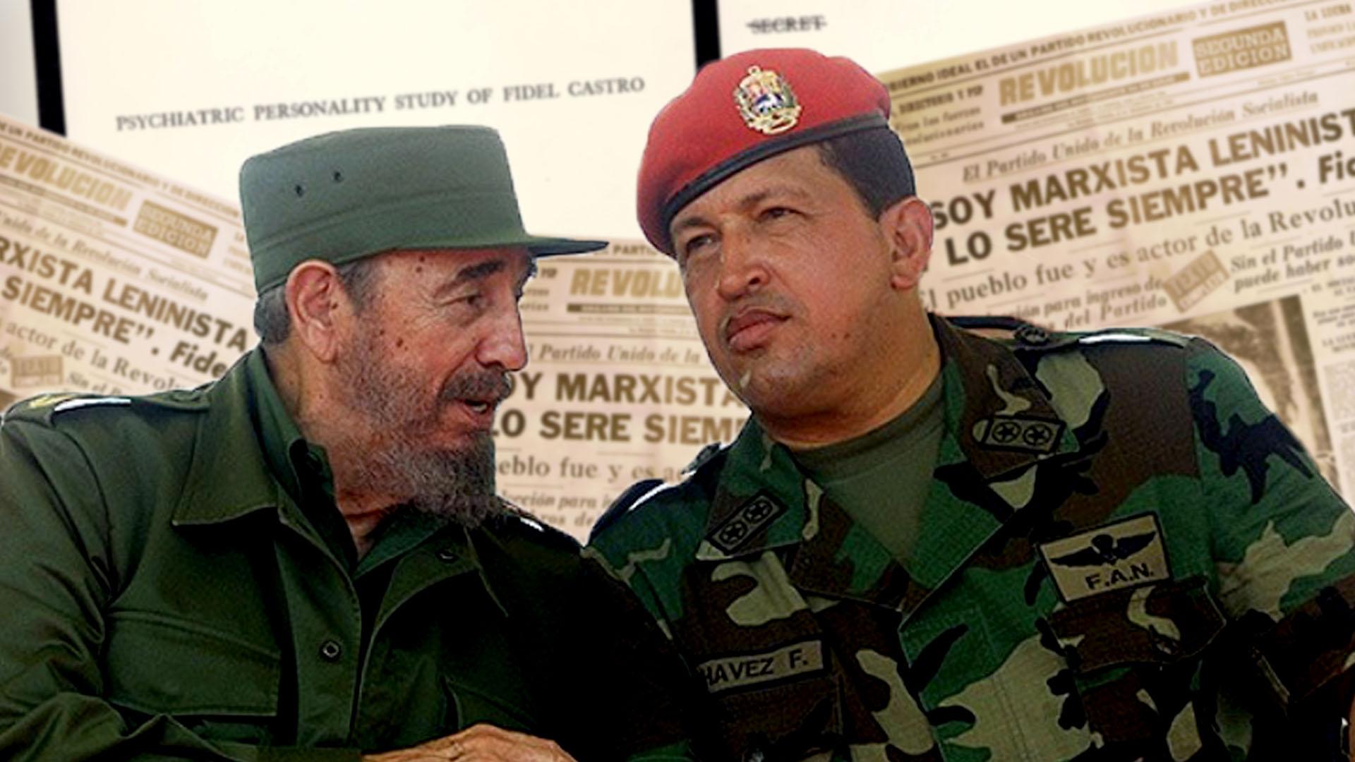 Velo Y Engaño El Arma Política De Fidel Castro Y Hugo Chávez Infobae