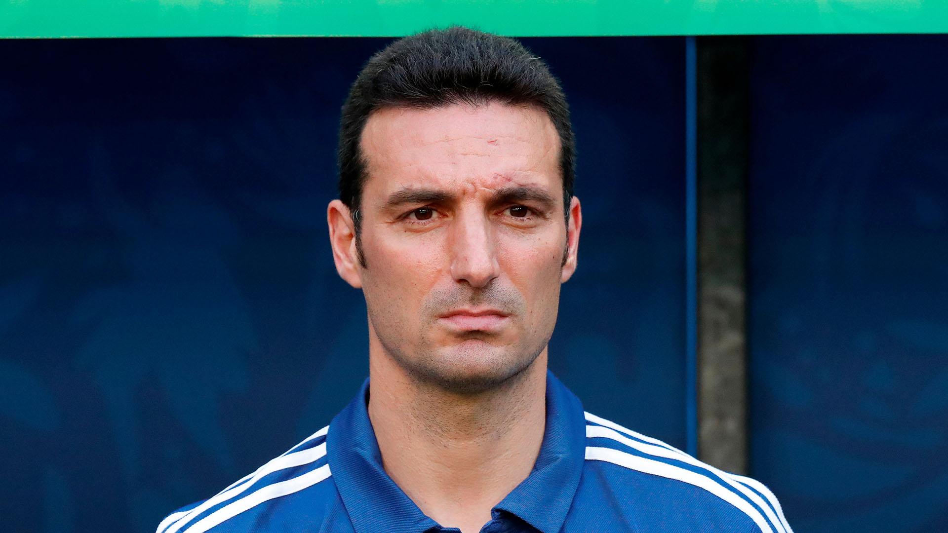 Scaloni, en el ojo de las críticas, se jugaba su futuro como entrenador