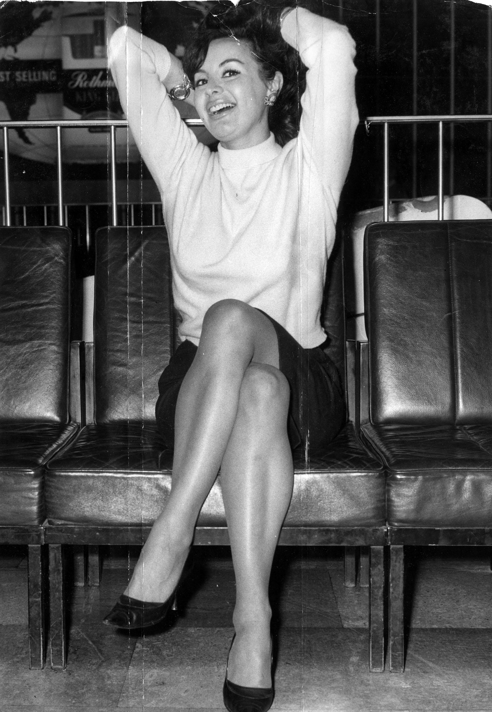 La Coca ganó el concurso de Miss Argentina en 1955 (Foto: Shutterstock)