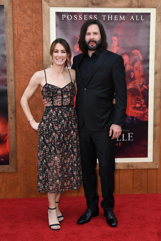 El escritor Gary Dauberman y su mujer Sara Dauberman