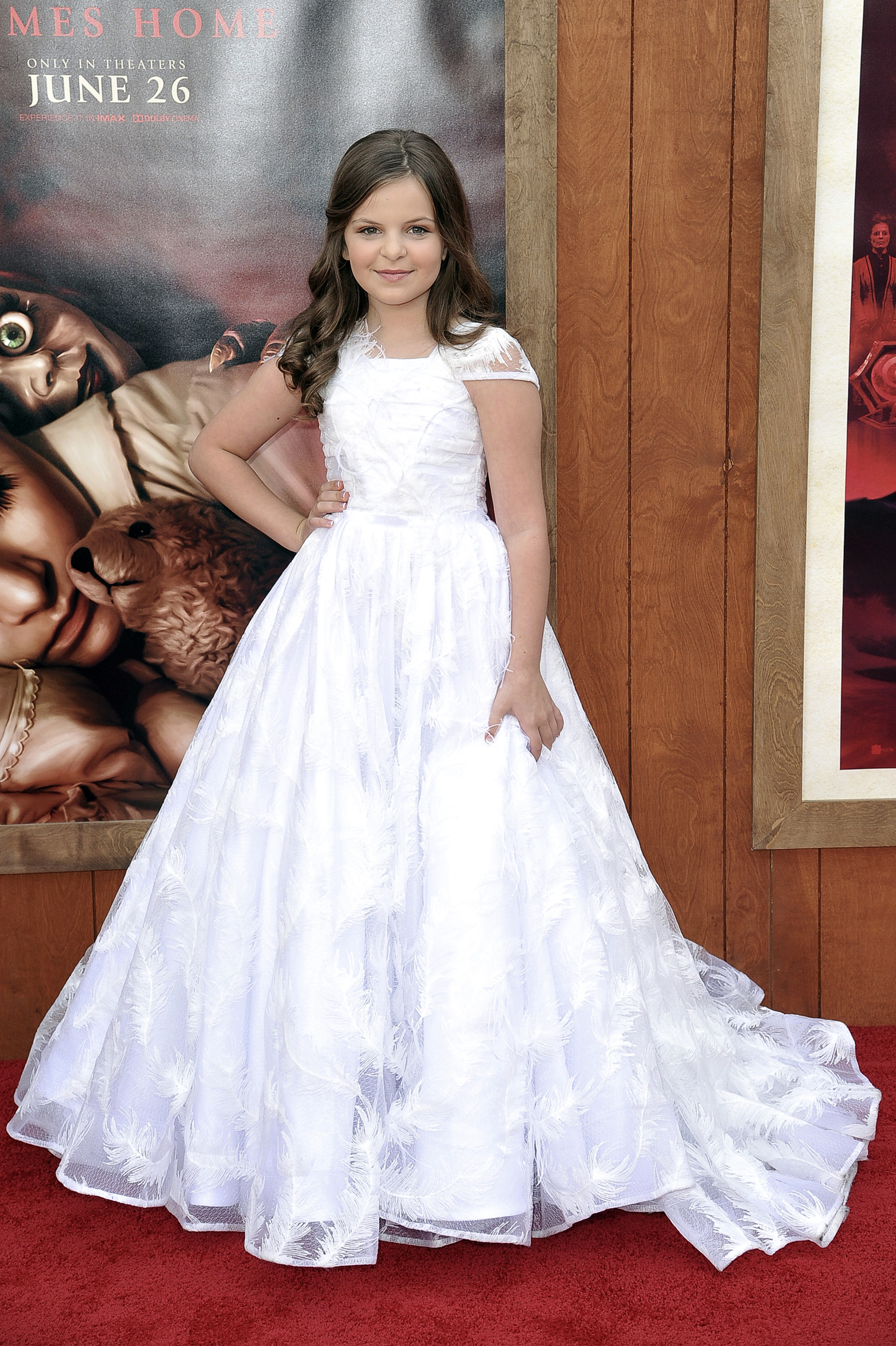 La pequeña Samara Lee