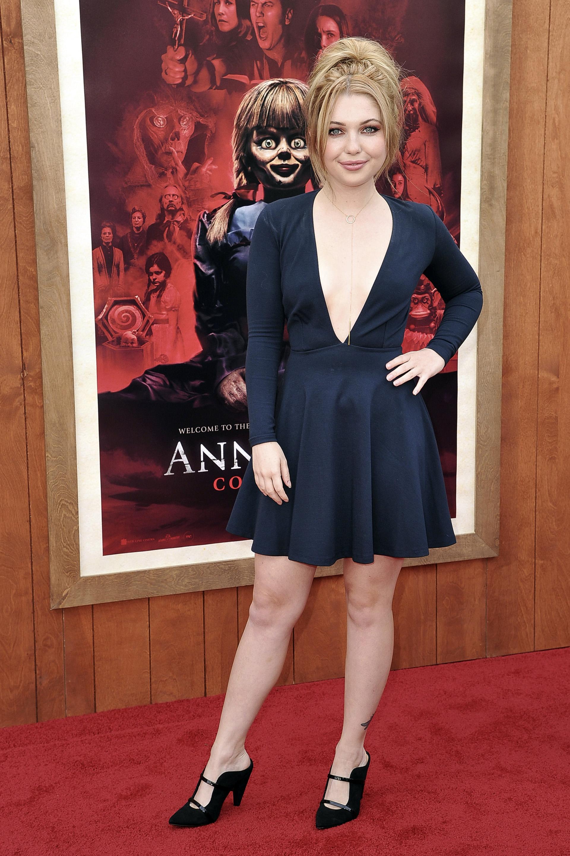 """Sammi Hanratty. Se trata de la tercera parte de la saga """"Annabelle"""", basada en la leyenda de la muñeca del mismo nombre"""