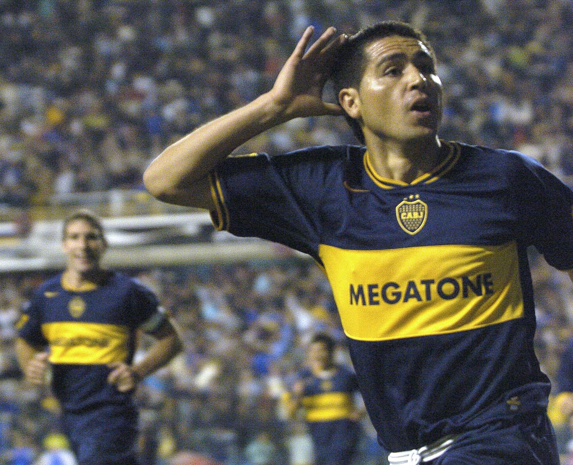 Juan Román Riquelme cumple 41 años (NA)
