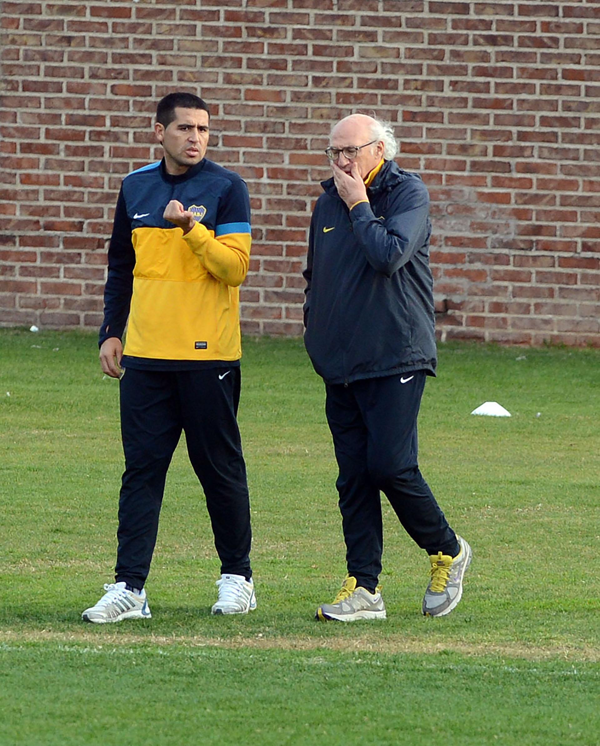 Junto a Carlos Binachi, su gran mentor (NA)