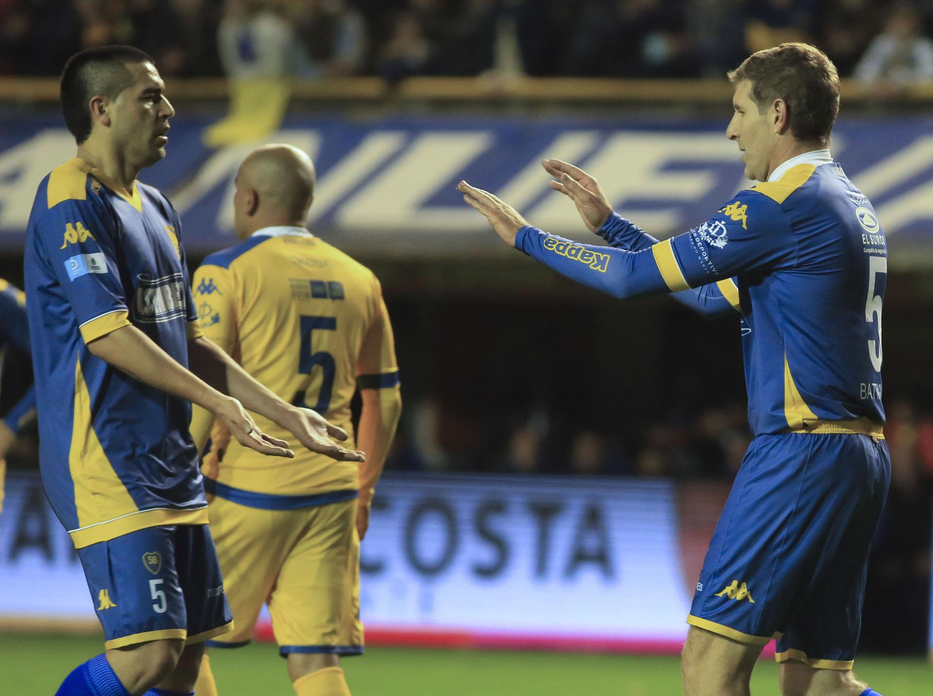 Con Martín Palermo formó una dupla demoledora en Boca (NA)