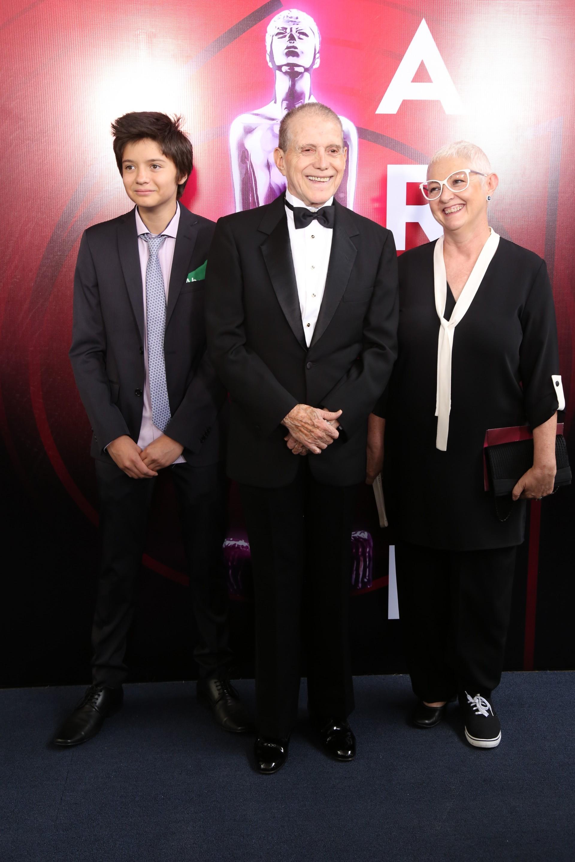Héctor Bonilla y familia (Foto: Juan Vicente Manrique/Infobae)