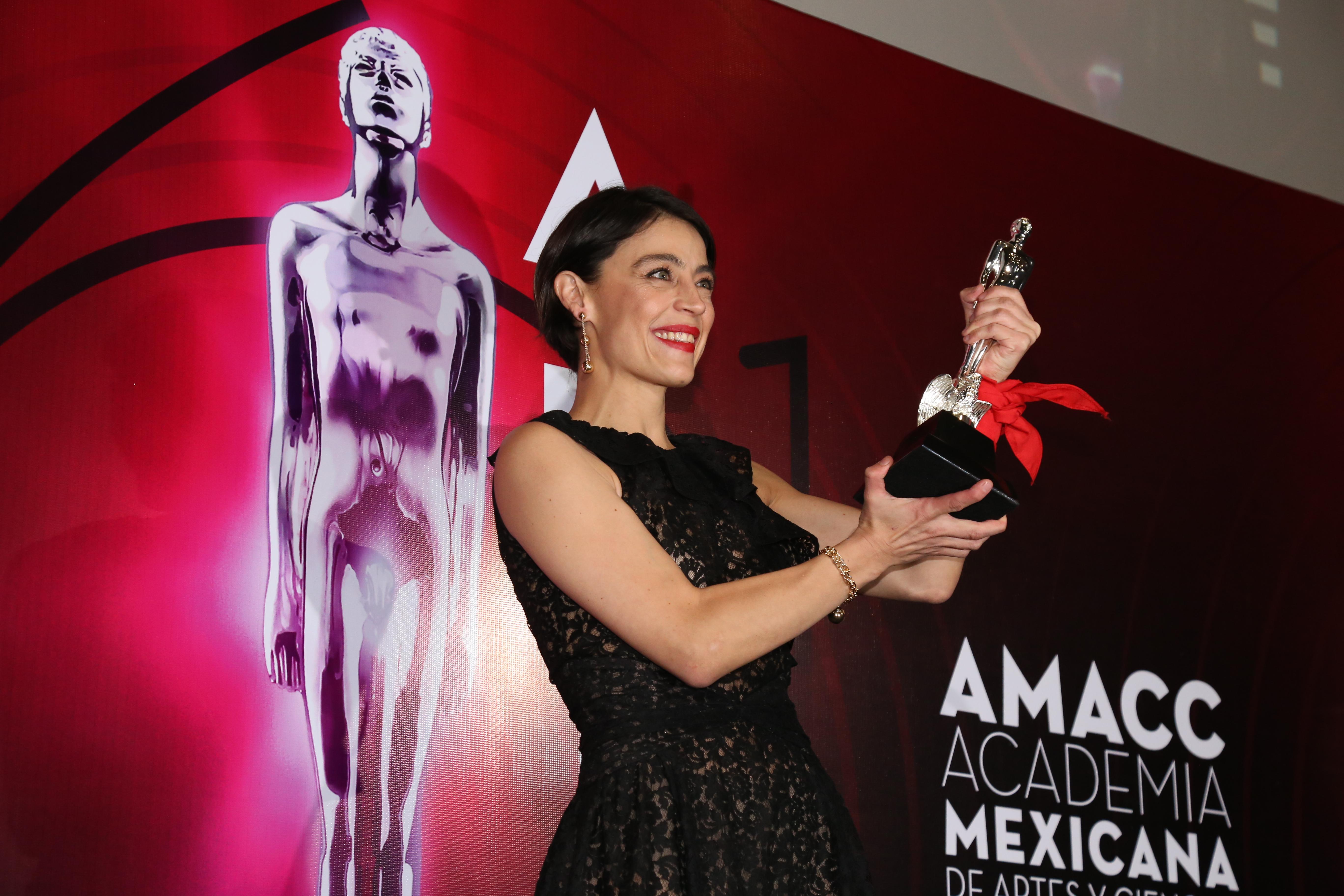 Ilse Salas, mejor actriz (Foto: Juan Vicente Manrique/Infobae)