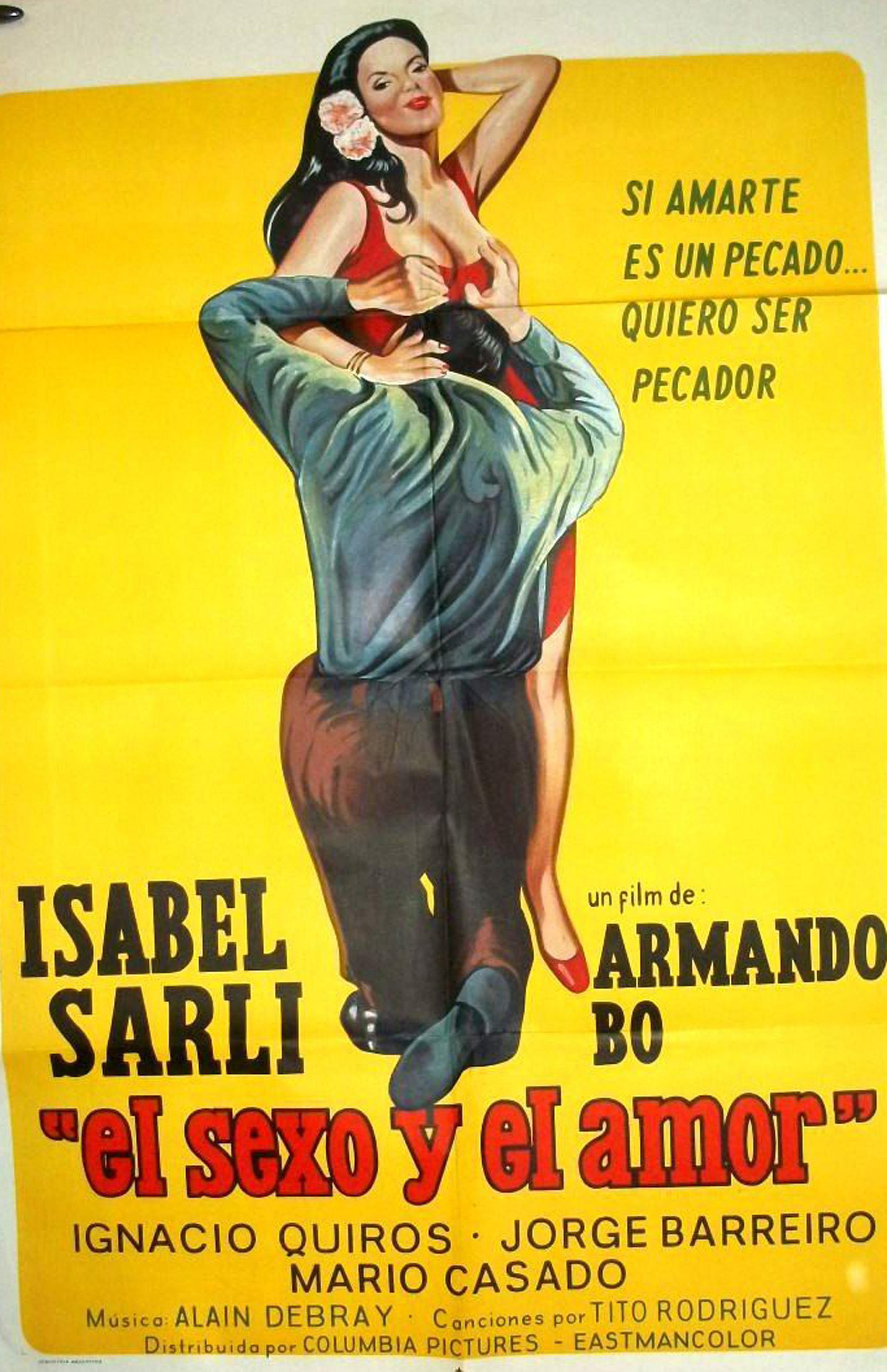 El sexo y el amor se estrenó en 1974 y tambén es protagonizada por Bó. Cuenta la historia de un hombre que tras quedar paralítico en un accidente, incita a su mujer para que sea infiel