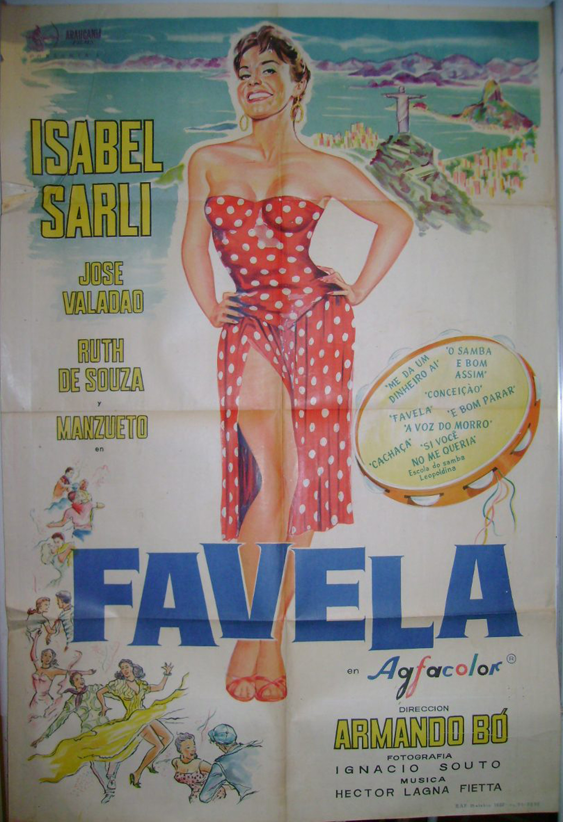 Favela, también con Armando Bó, se estrenó en 1961 y fue una co producción con Brasil