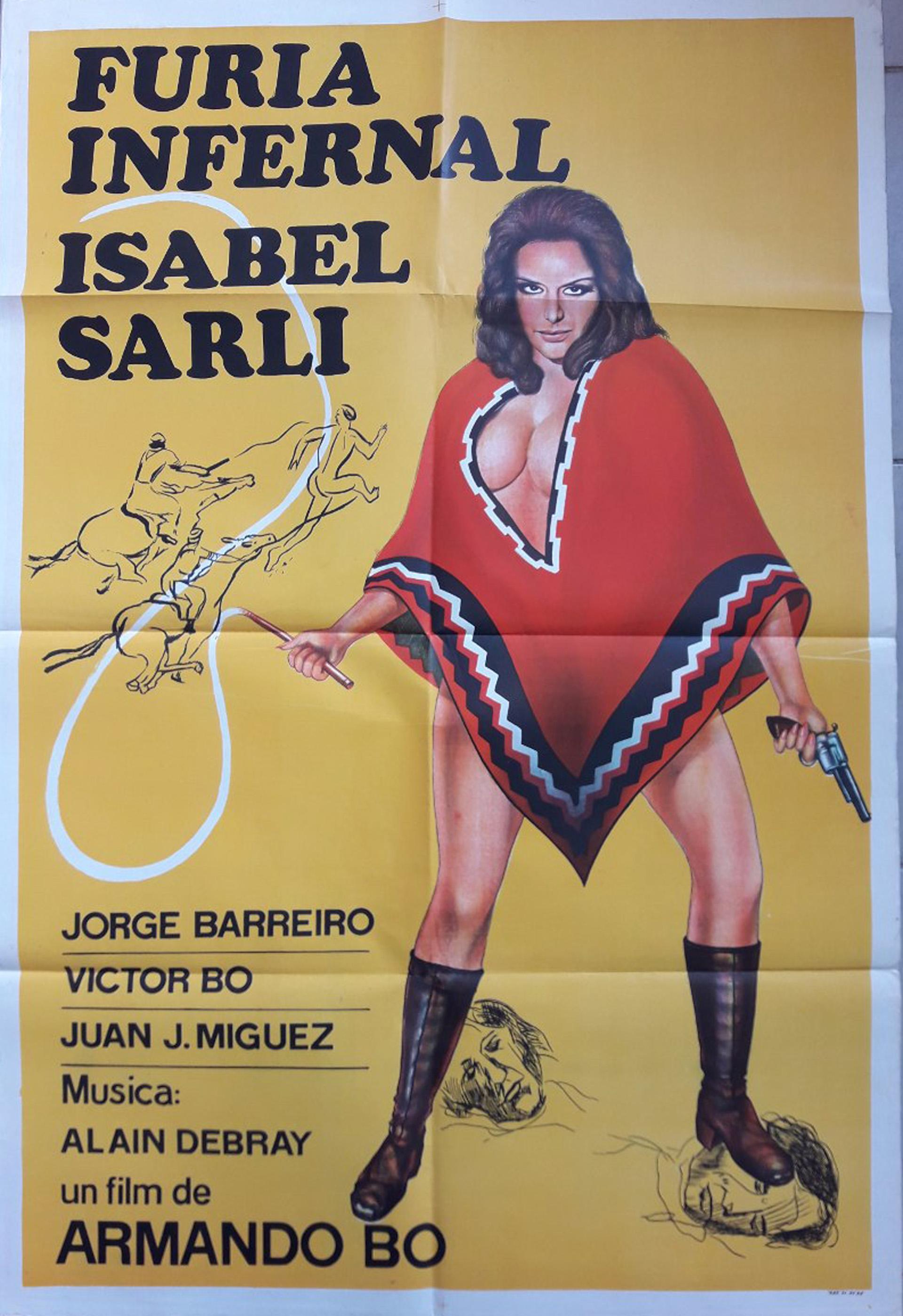Furia infernal se estrenó en 1973 y esta vez, Bó eligió como locación Chubut