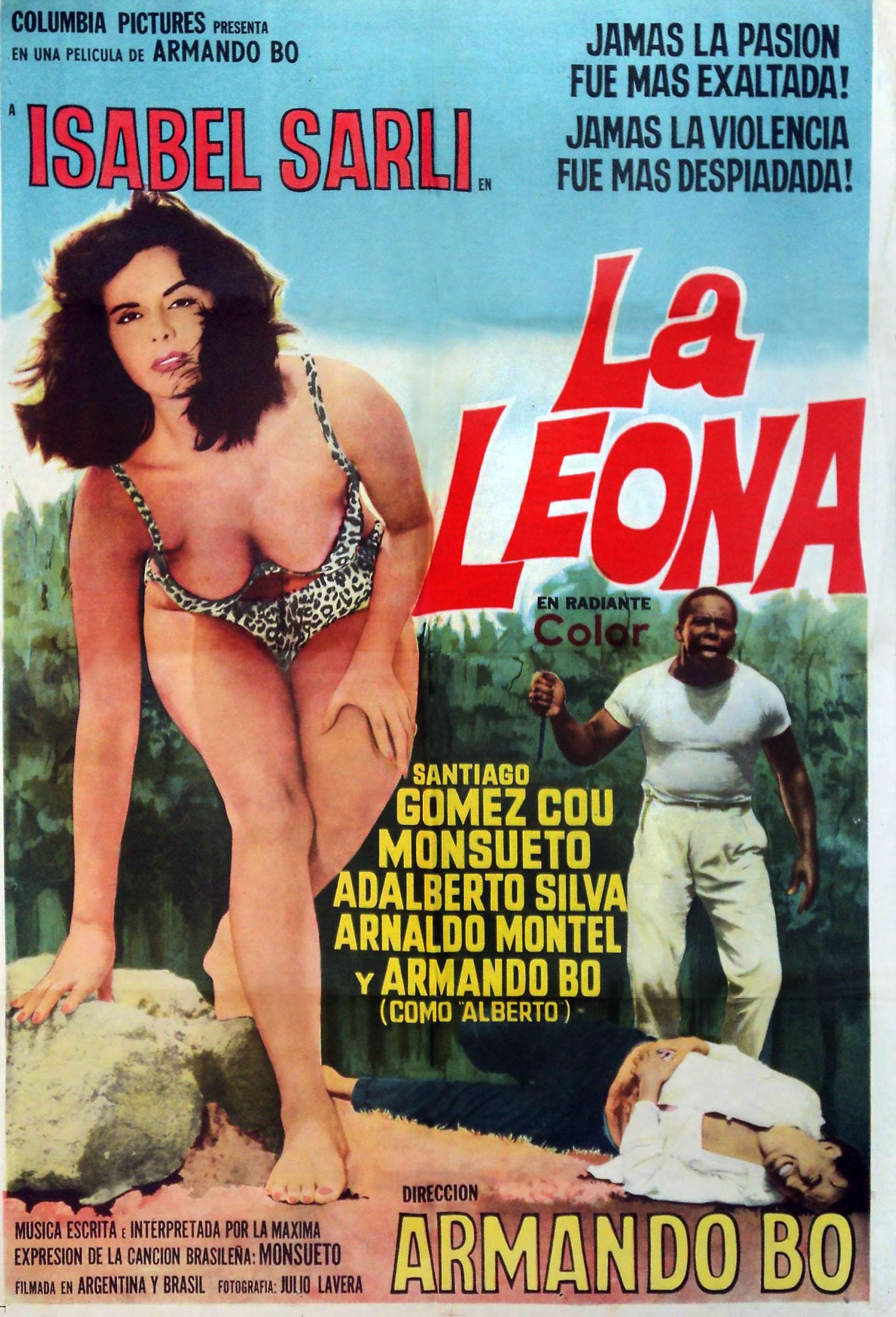 En 1964 la Coca hizo también en co producción con Brasil y con dirección de Bó, La Leona. El elenco lo completaron Santiago Gómez Cou, Menezes Monsueto y Adalberto Silva