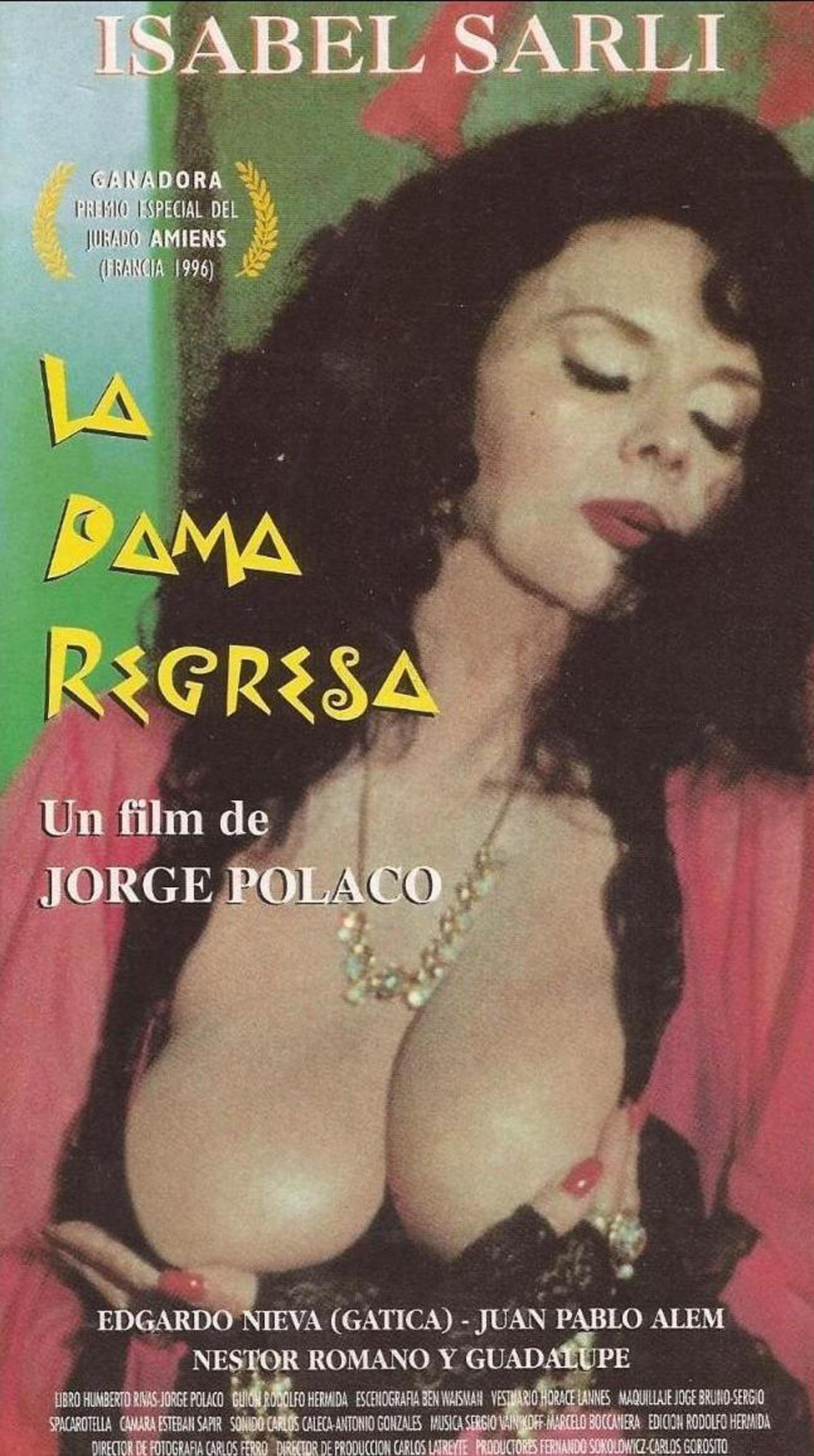 La dama regresa se estrenó en 1996 y significó el gran regreso de la Coca a la pantalla grande, con dirección de Jorge Polaco