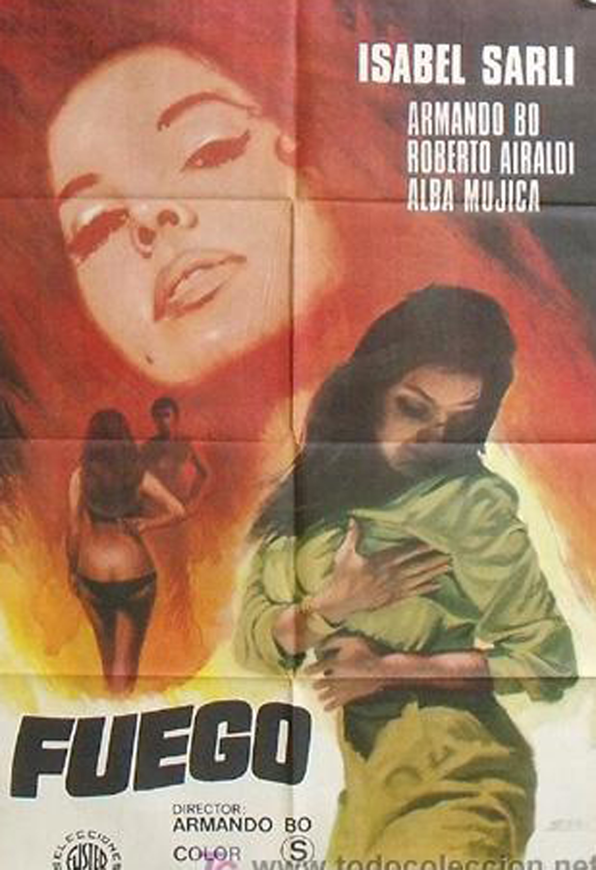Fuego se estrenó en 1969 t en parte se filmó en Nueva York