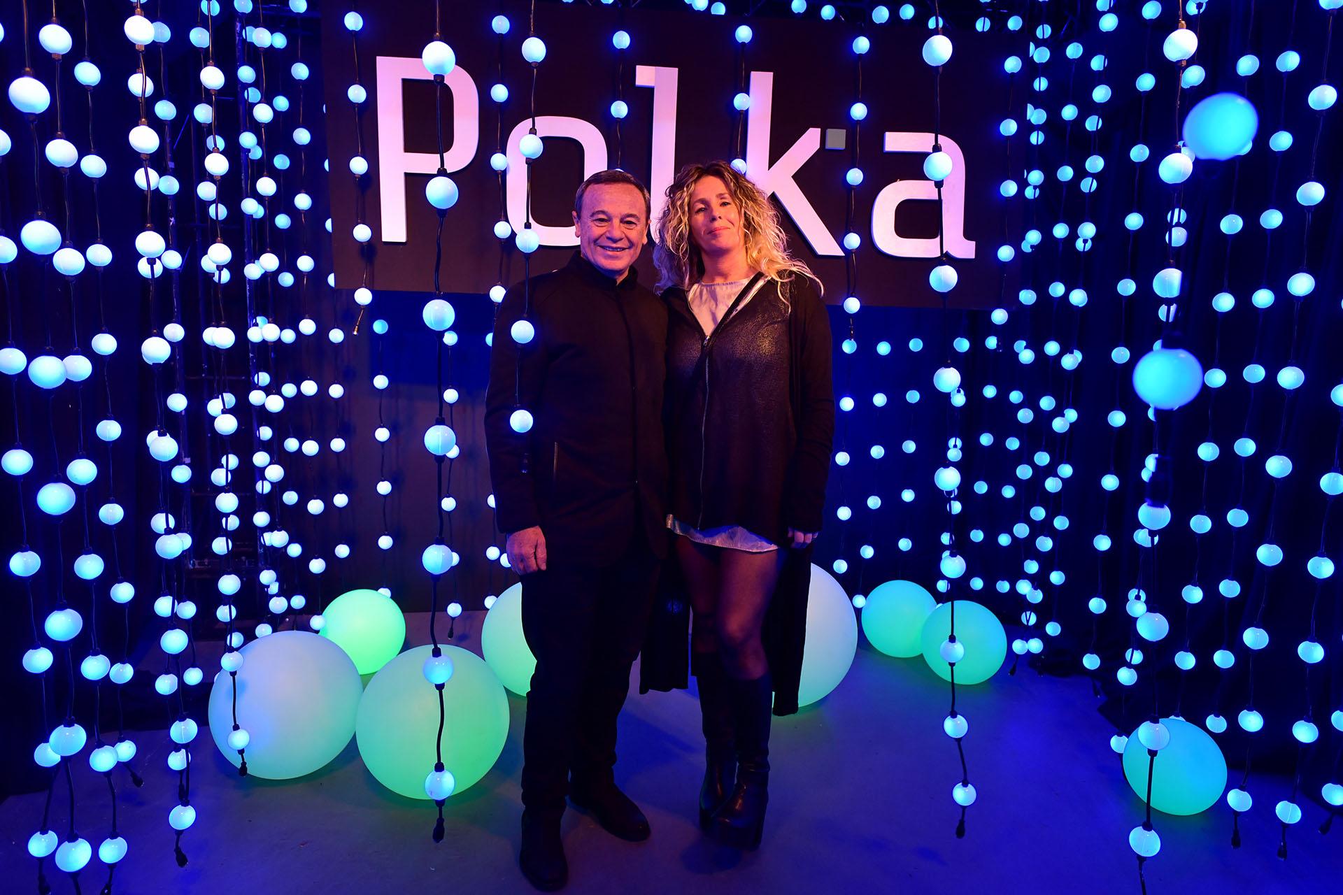 Pablo Codevilla y su mujer