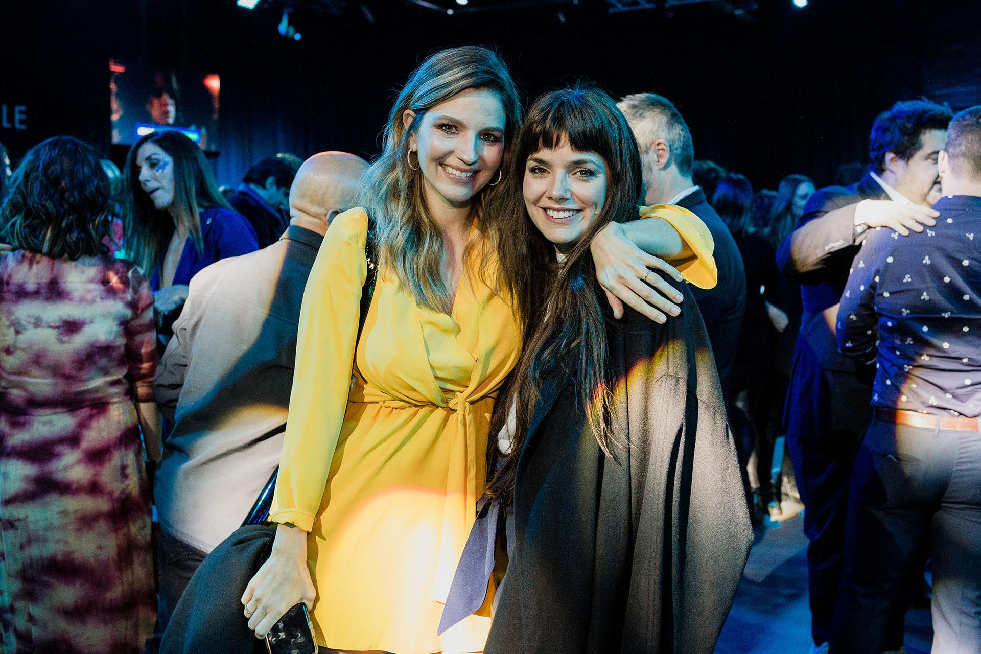 Marcela Kloosterboer y Natalie Pérez