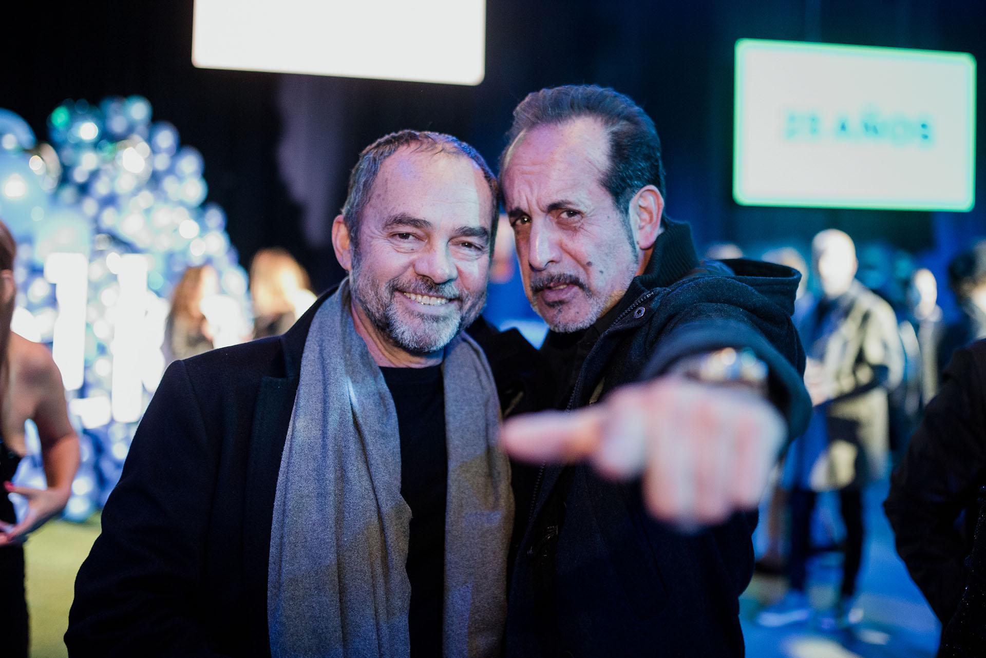 Carlos Santamaría y Alejandro Fiore