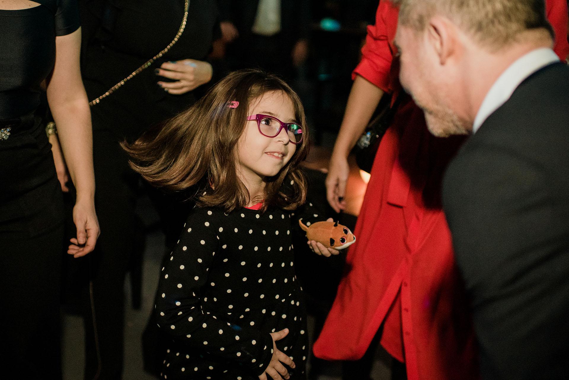 Adrián Suar y su hija Margarita