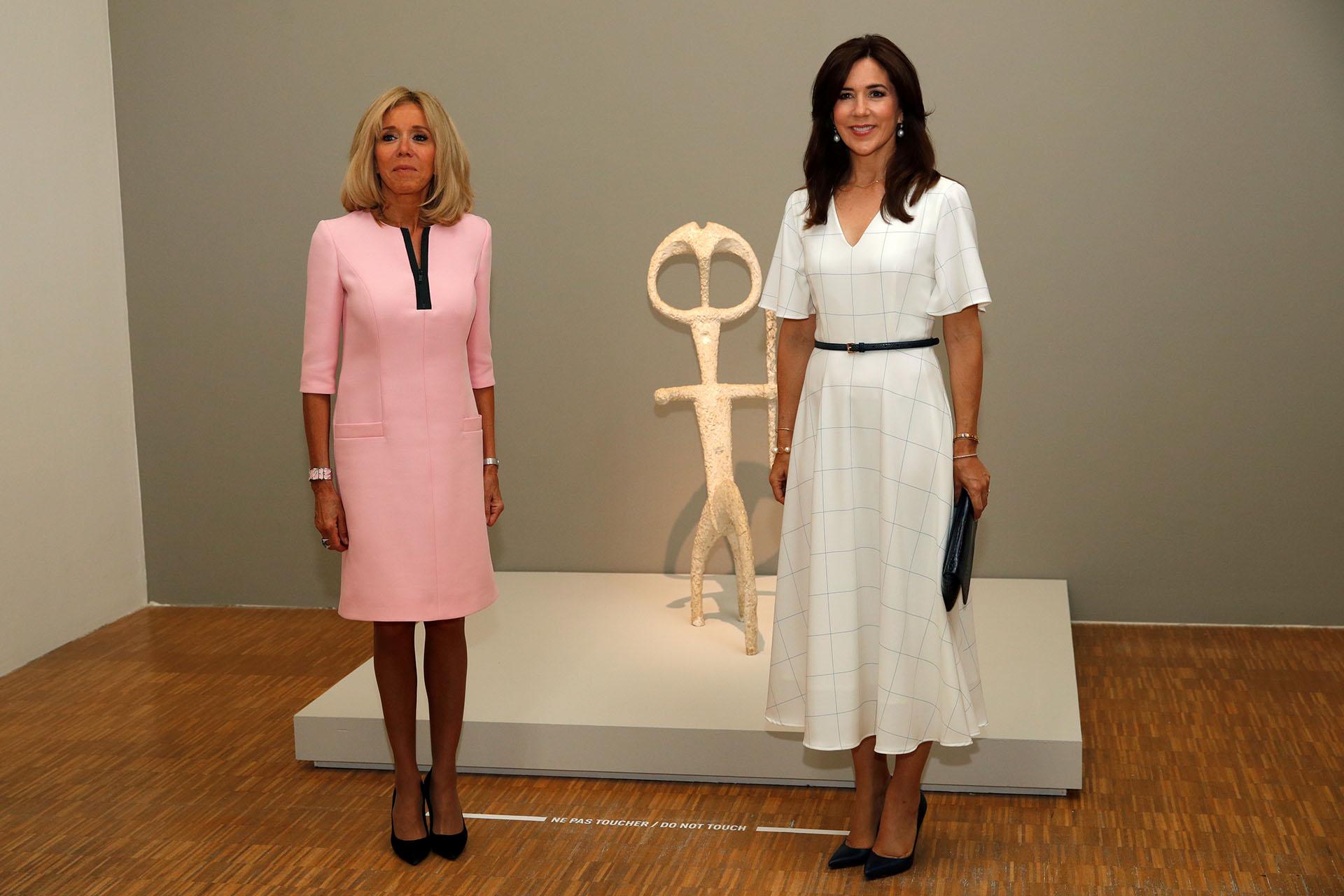Brigitte y Mary asistieron a una conferencia sobre salud en la Casa de Dinamarca
