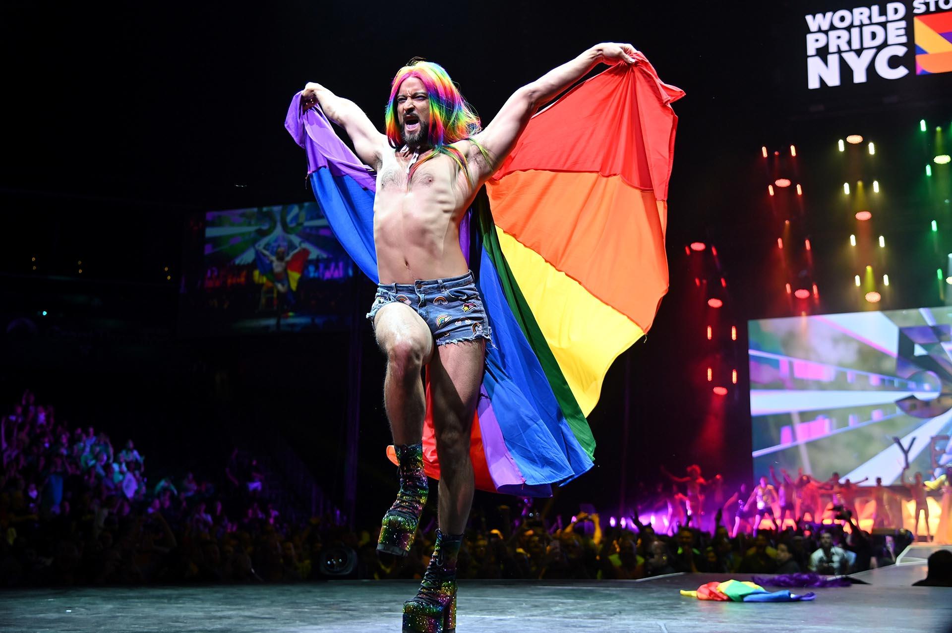 Los shows de drag queens tampoco faltaron en el World Pride 2019 de Nueva York de este 2019