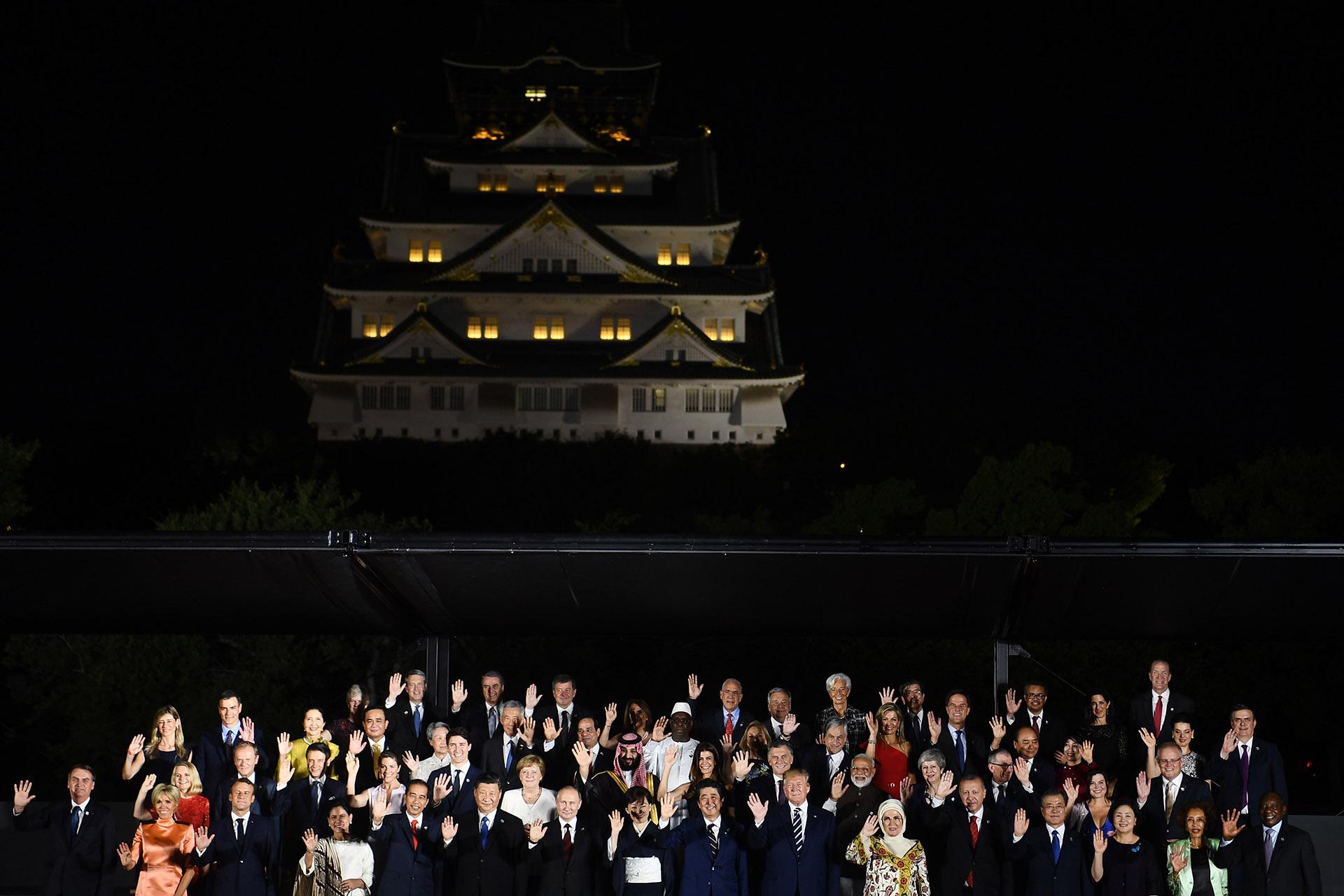 La noche previa a la Cumbre del G20, en Osaka, con todos los mandatariosmundiales