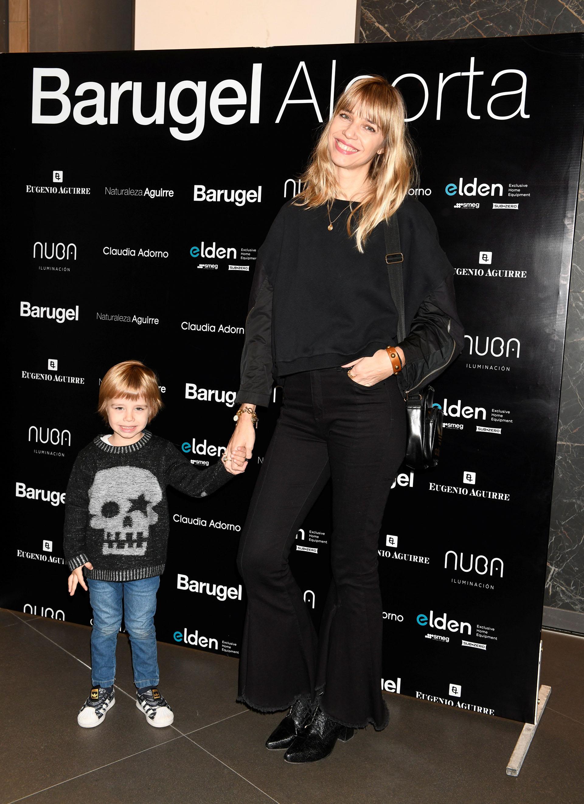 Lorena Ceriscioli y su hijo, Gennaro