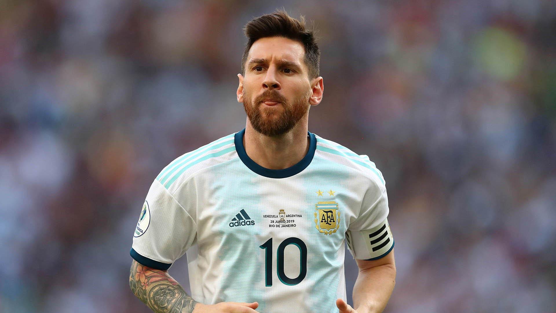 Lionel Messi en la última Copa América (Foto: REUTERS/Pilar Olivares)