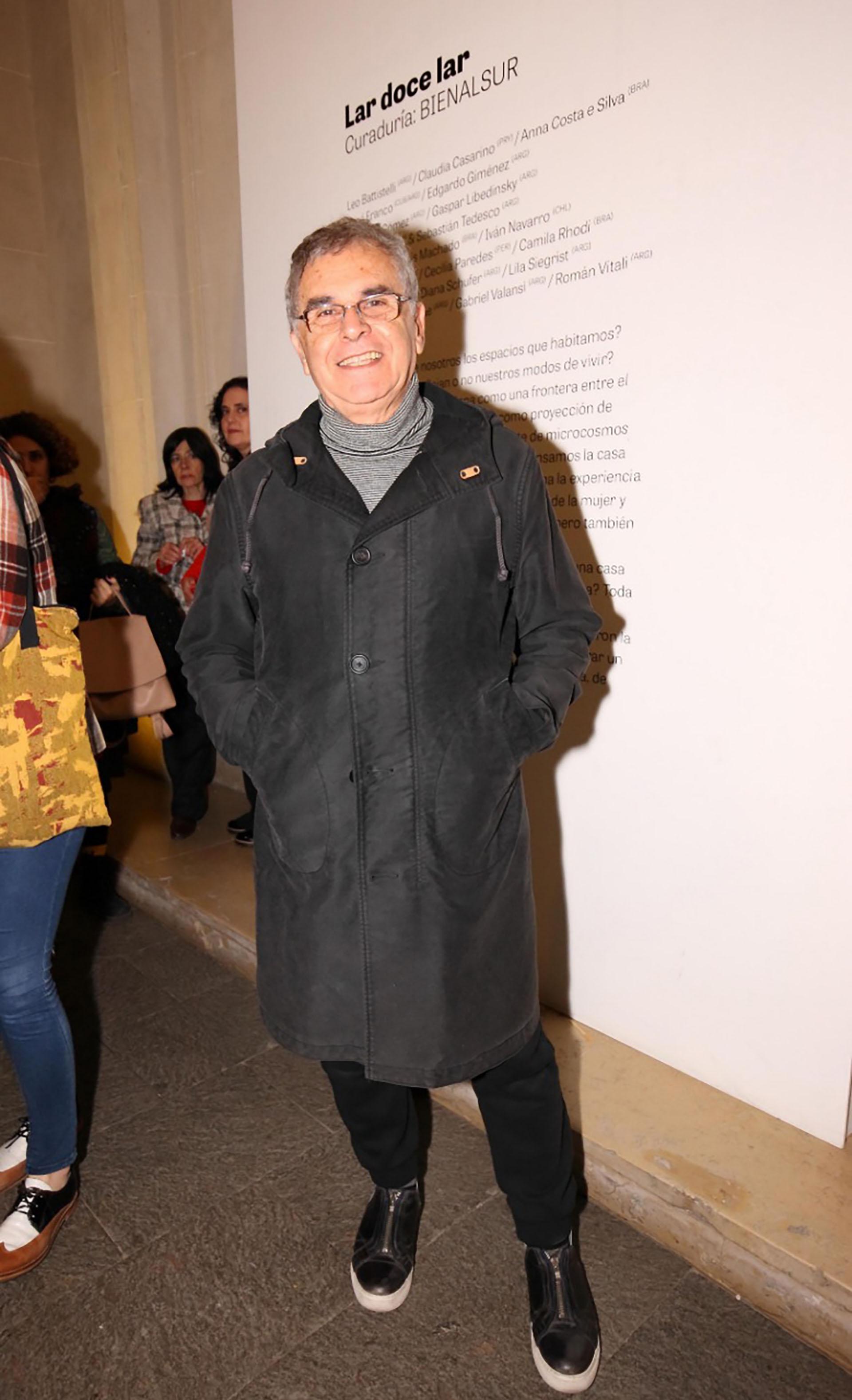 El artista plástico Edgardo Martínez